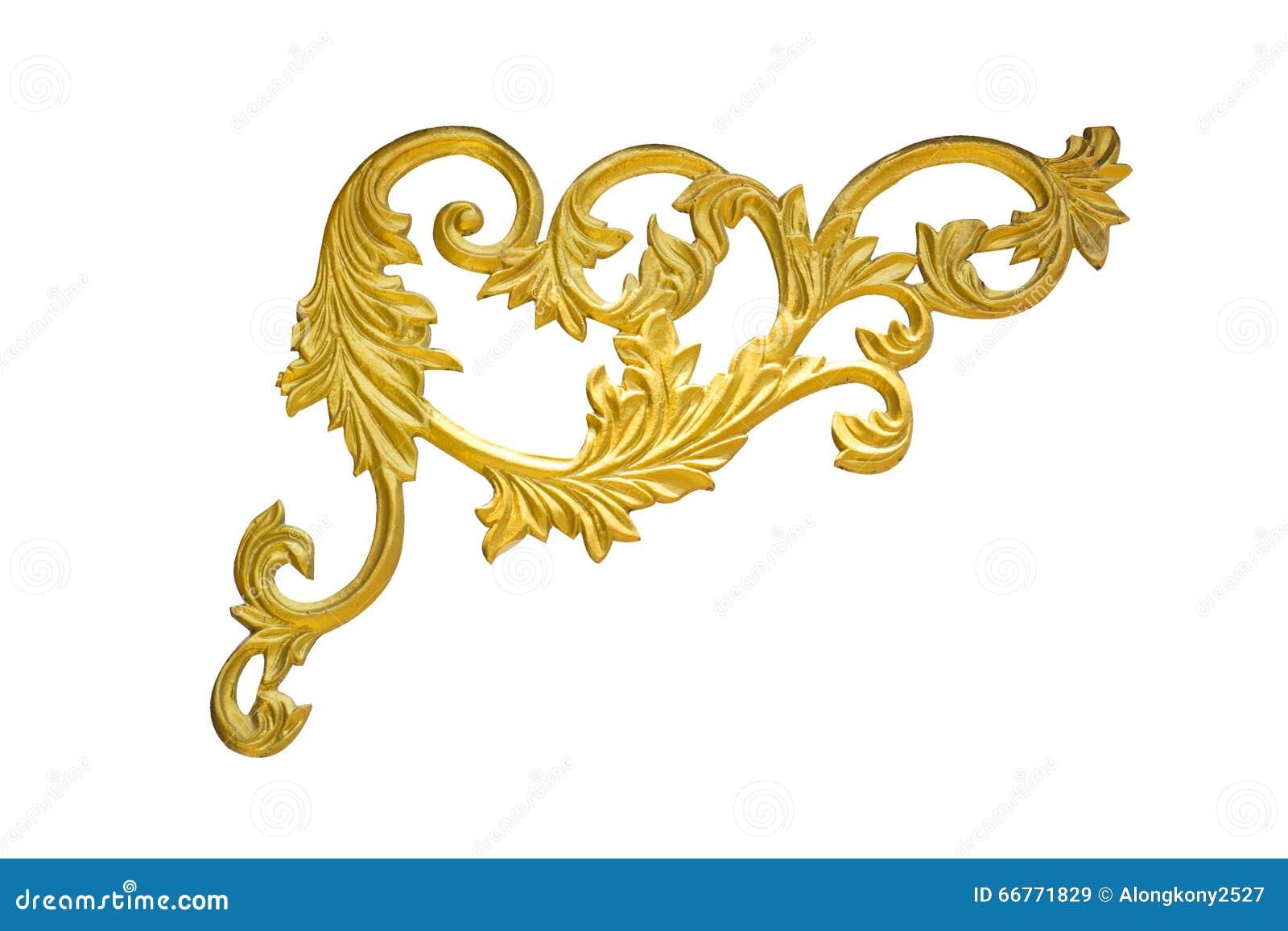 老古色古香的在白色背景隔绝的边界的金框架灰泥墙壁希腊文化罗马葡萄酒样式样式线设计