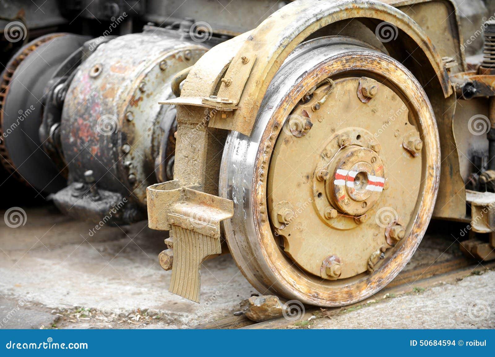 Download 老和生锈的电车轮子 库存照片. 图片 包括有 电车轨道, 系统, 行业, 都市, 水平, 维修服务, 工厂 - 50684594