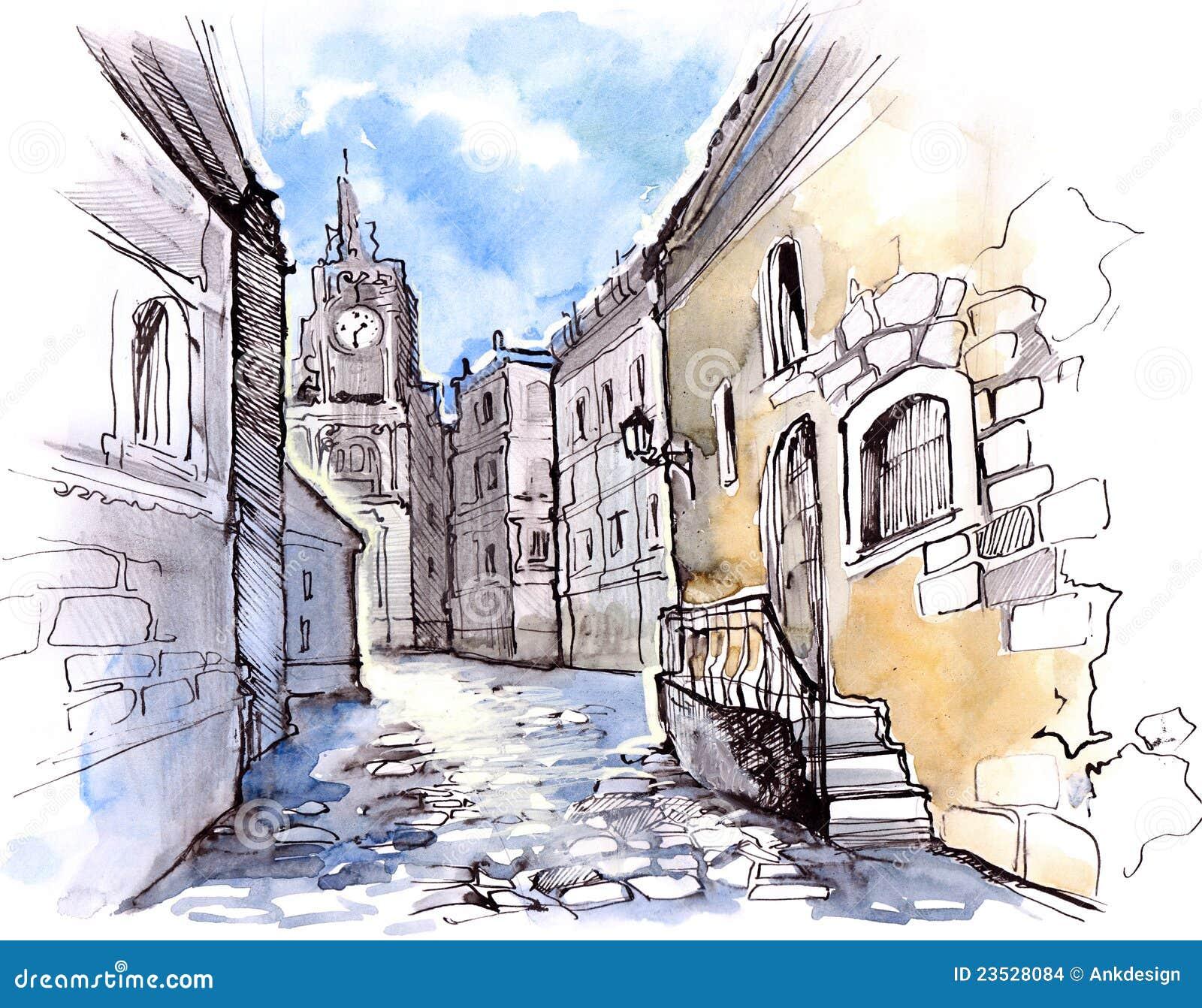 老城市图片