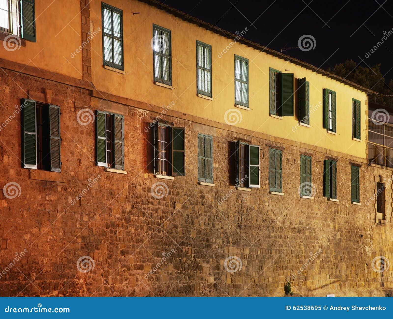 老大厦在尼科西亚 塞浦路斯