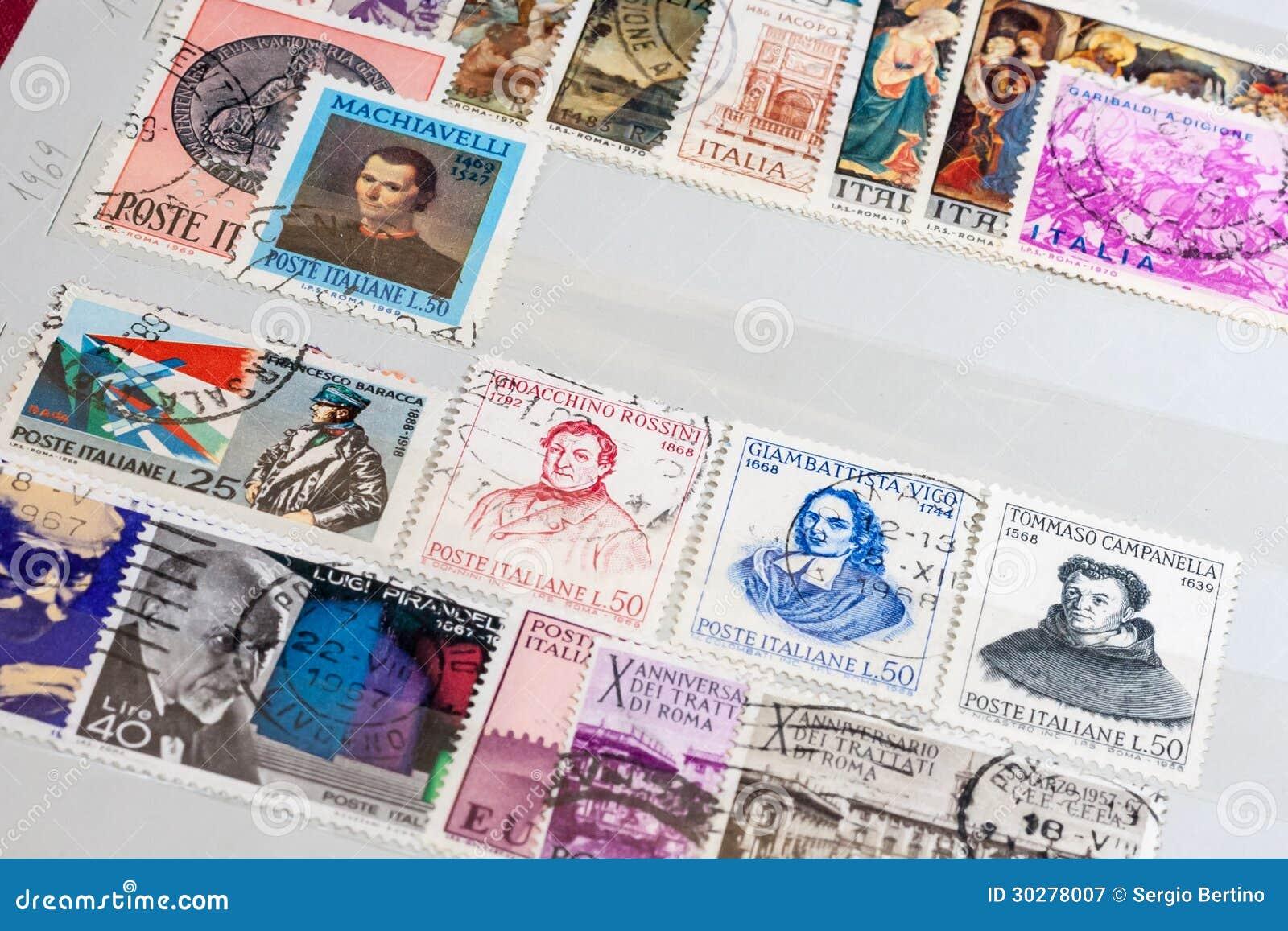 老意大利人邮票