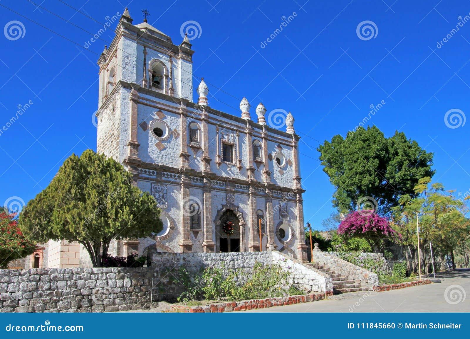 老方济会教会, Mision圣伊格纳西奥Kadakaaman,在圣伊格纳西奥,下加利福尼亚州,墨西哥