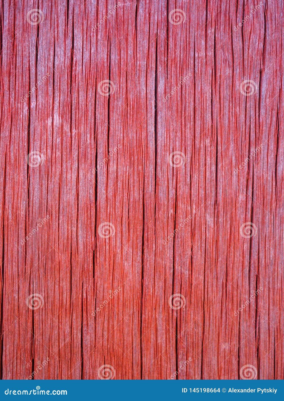 老木板珊瑚颜色的纹理