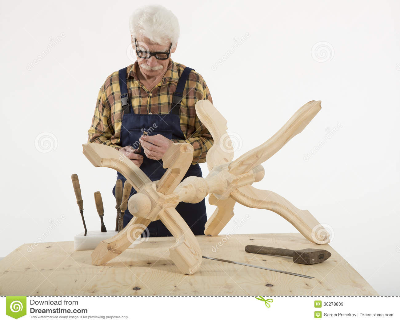老主人木匠