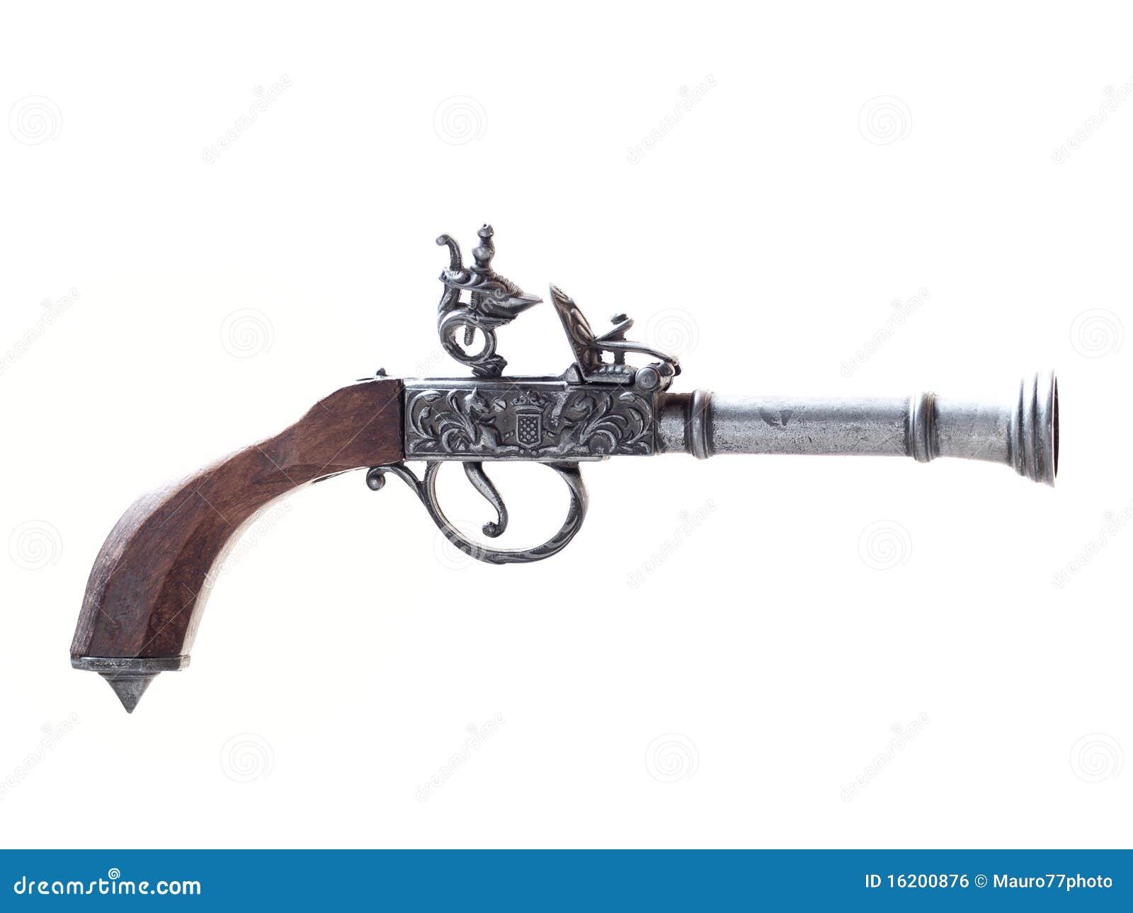 免版税库存图片: 老枪