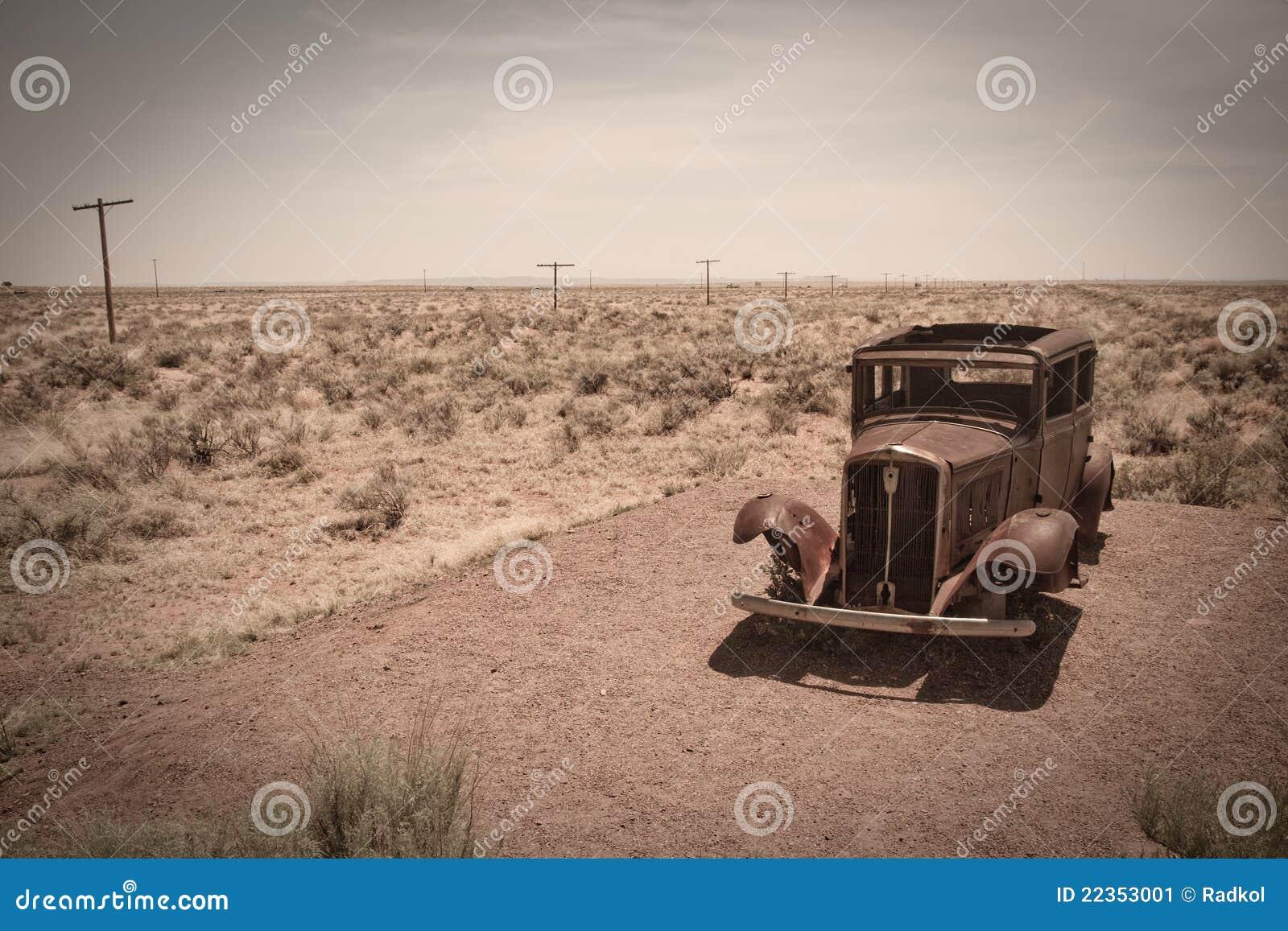 老汽车沙漠