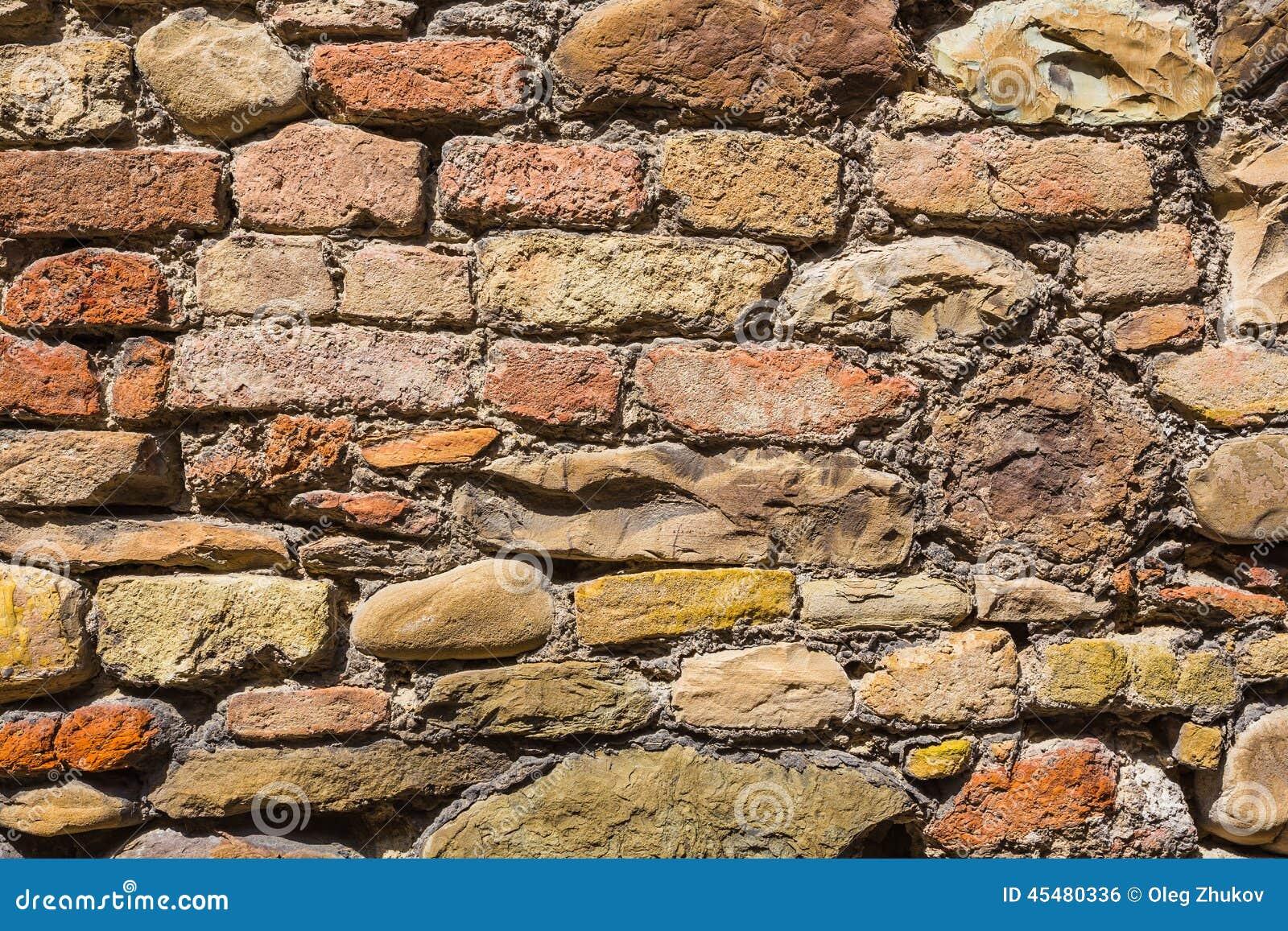 老砖墙纹理背景