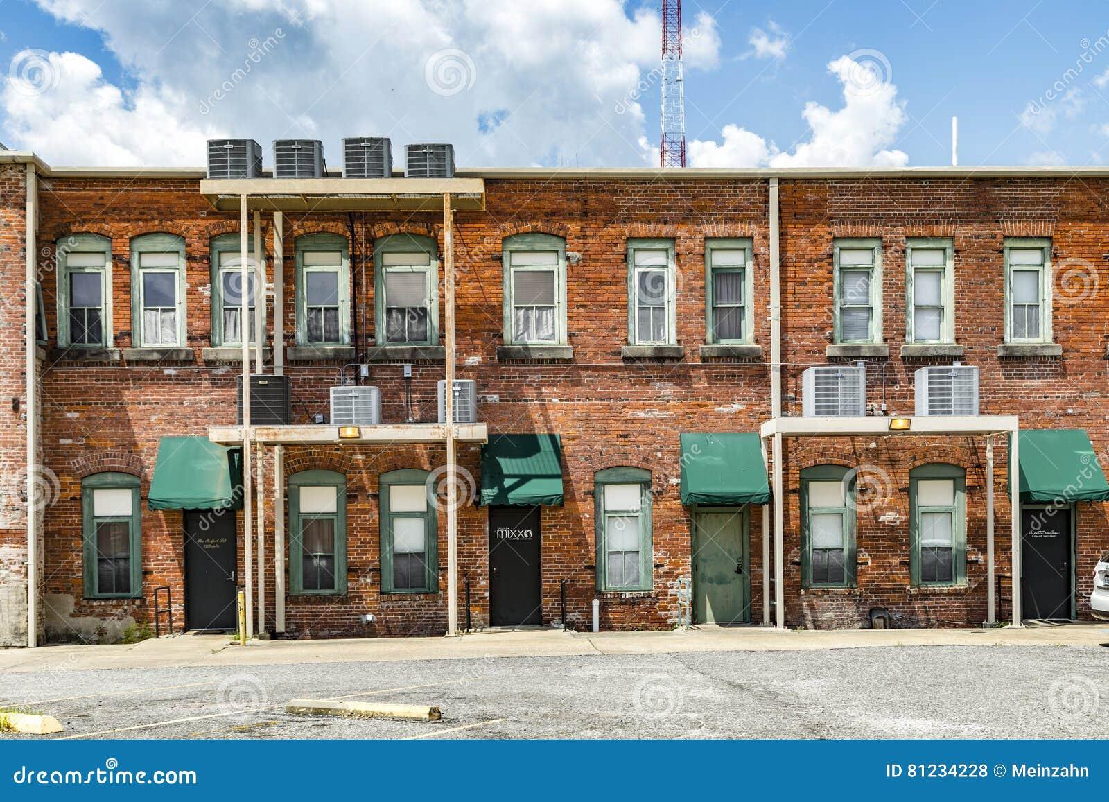 老砖房子在Eastpoint,美国看法