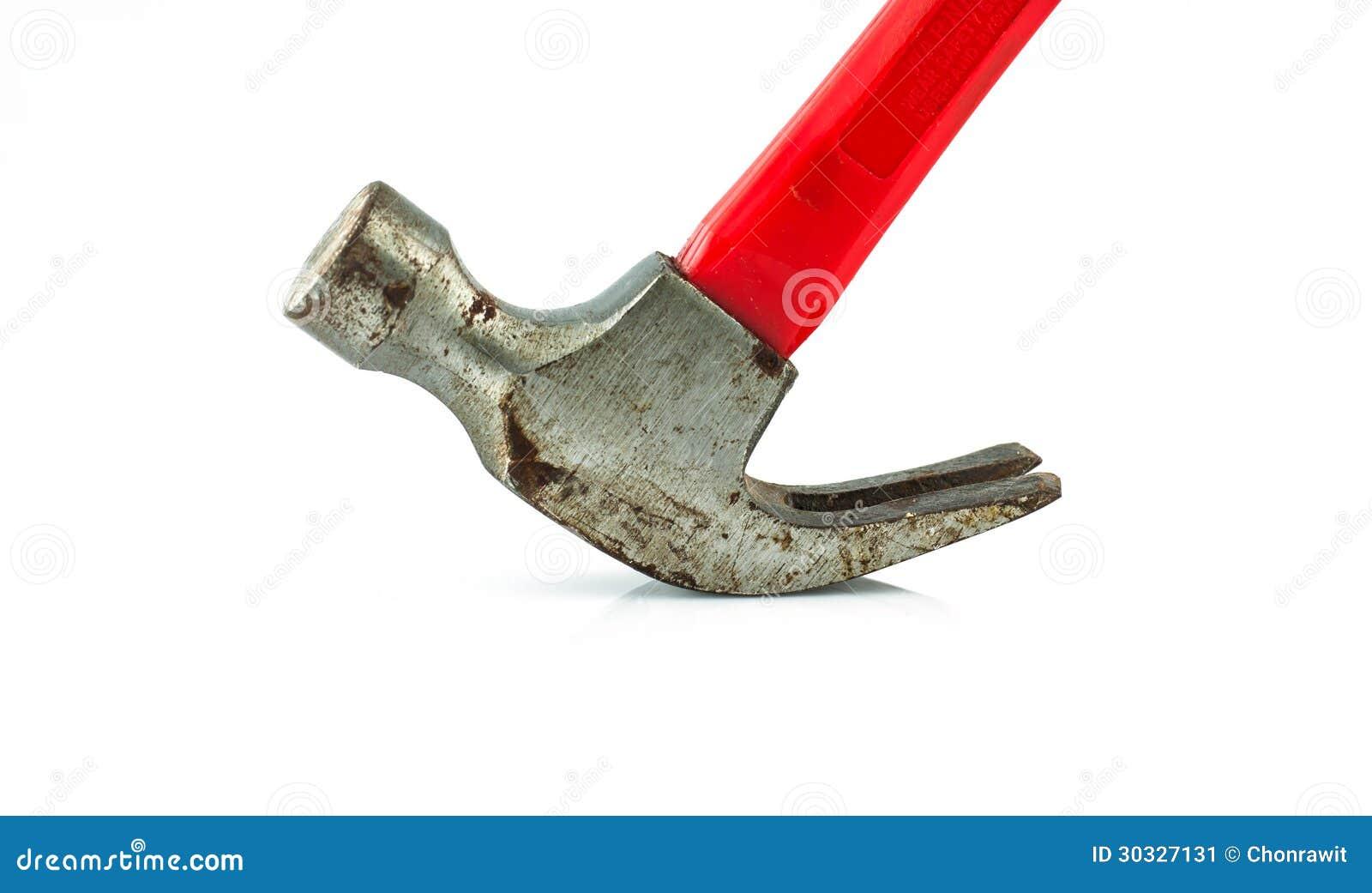 老红色锤子