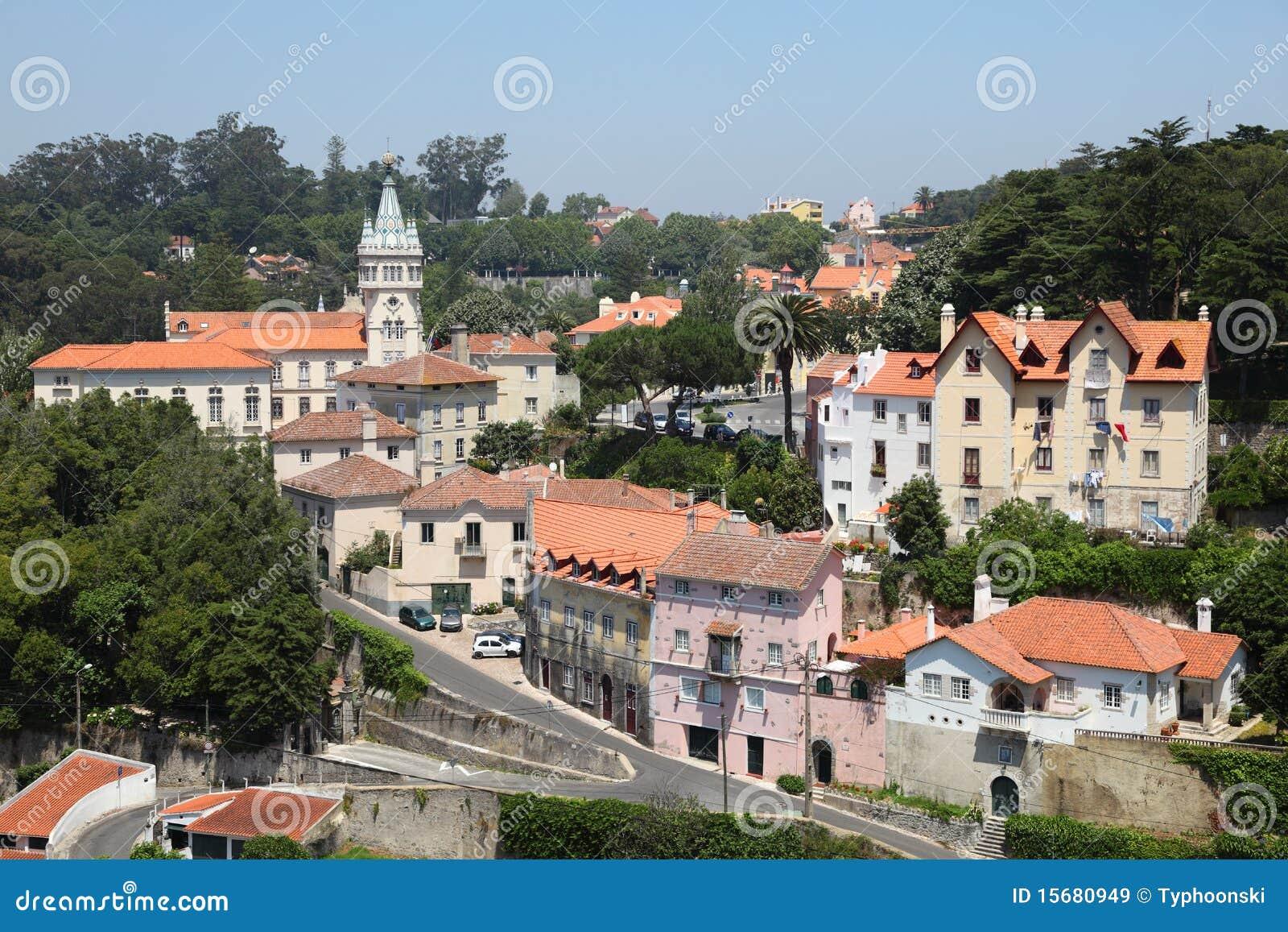 老葡萄牙sintra城镇