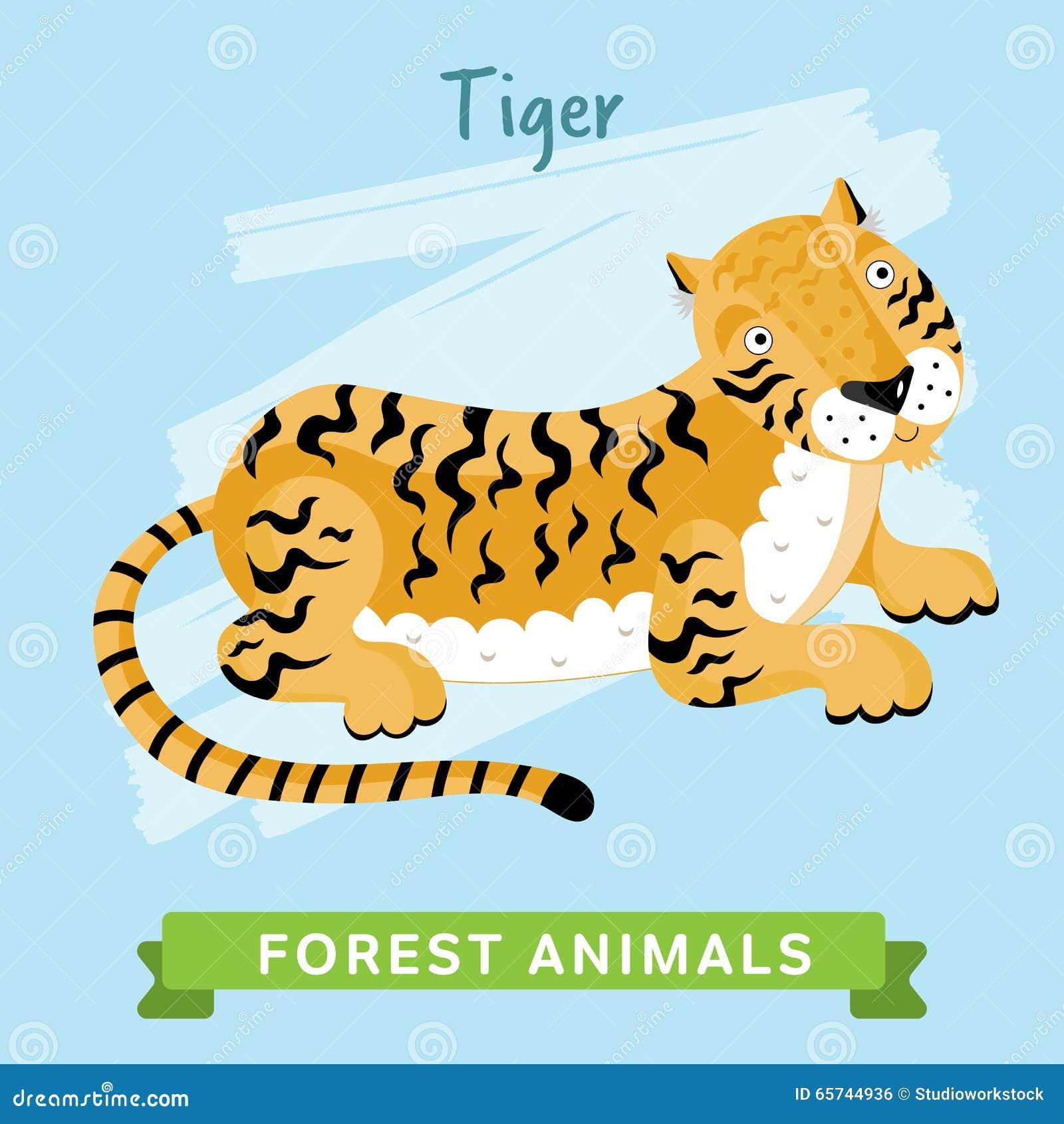 老虎传染媒介,森林动物图片