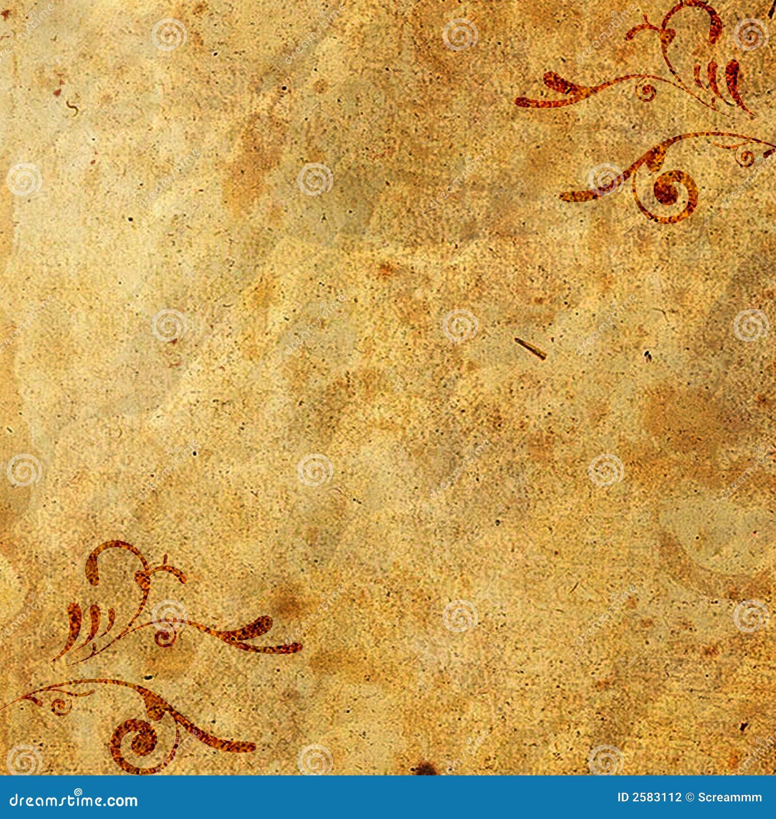 老装饰品纸张