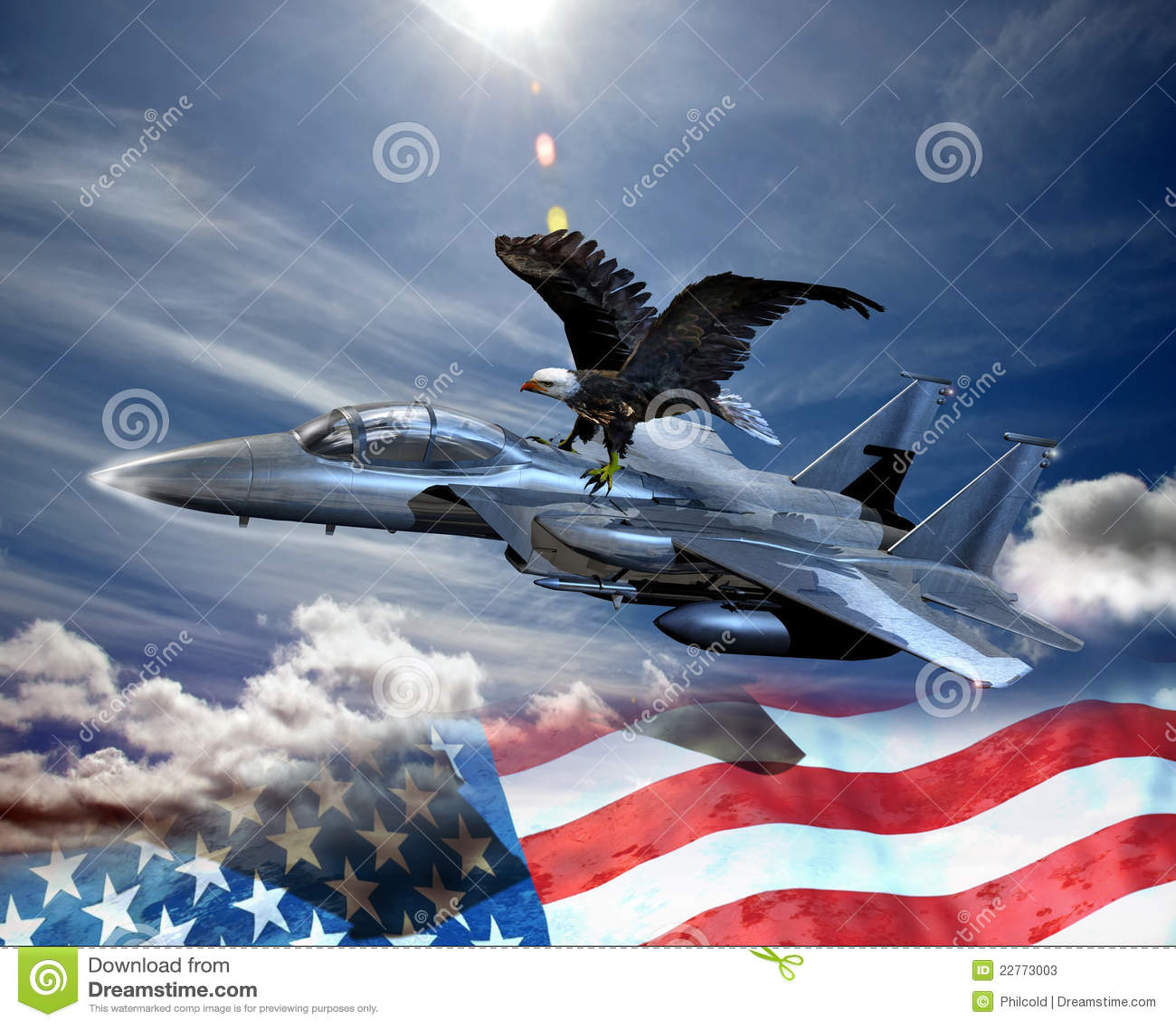 老鹰战斗机