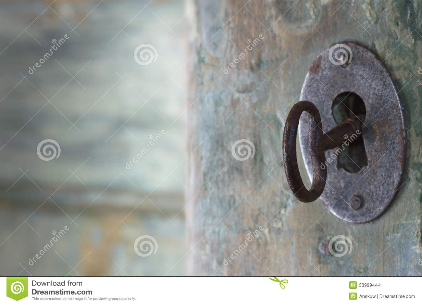 老绿色古色古香的门