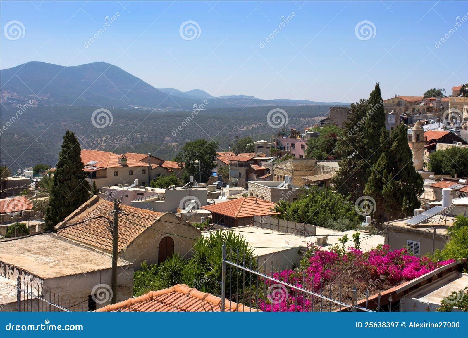 老Safed,上面的内盖夫加利利,以色列