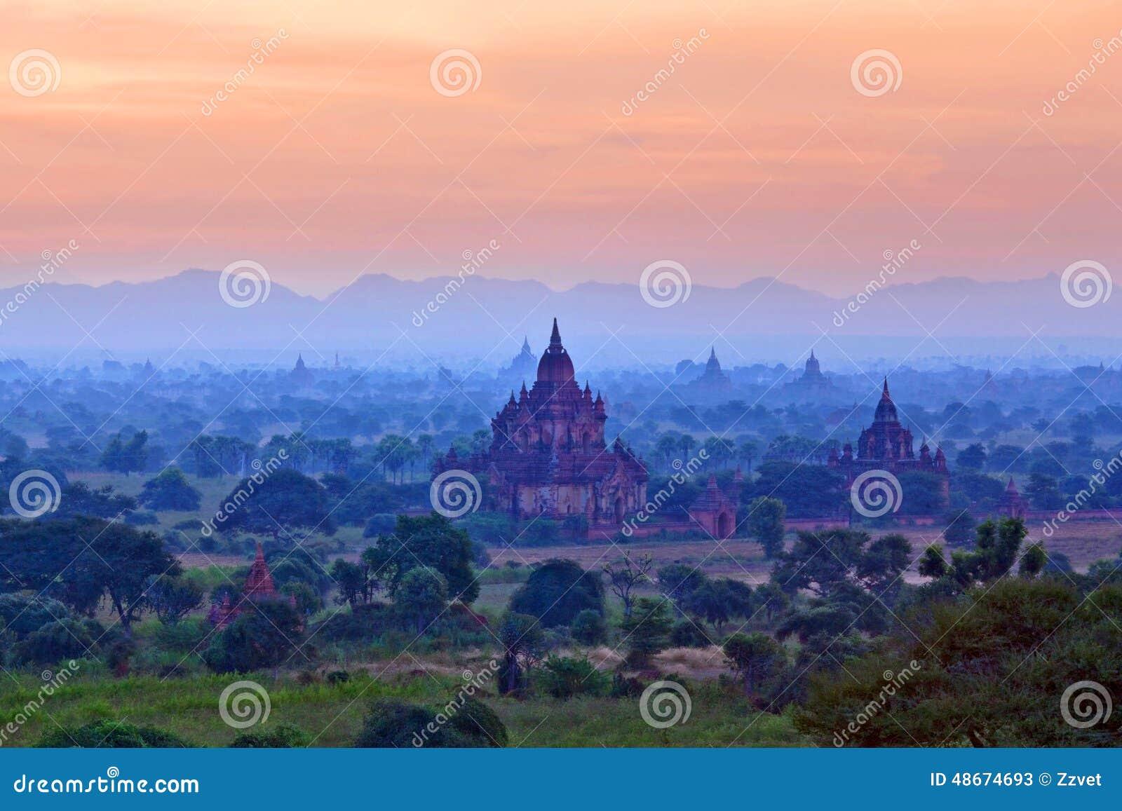 考古学bagan缅甸区域