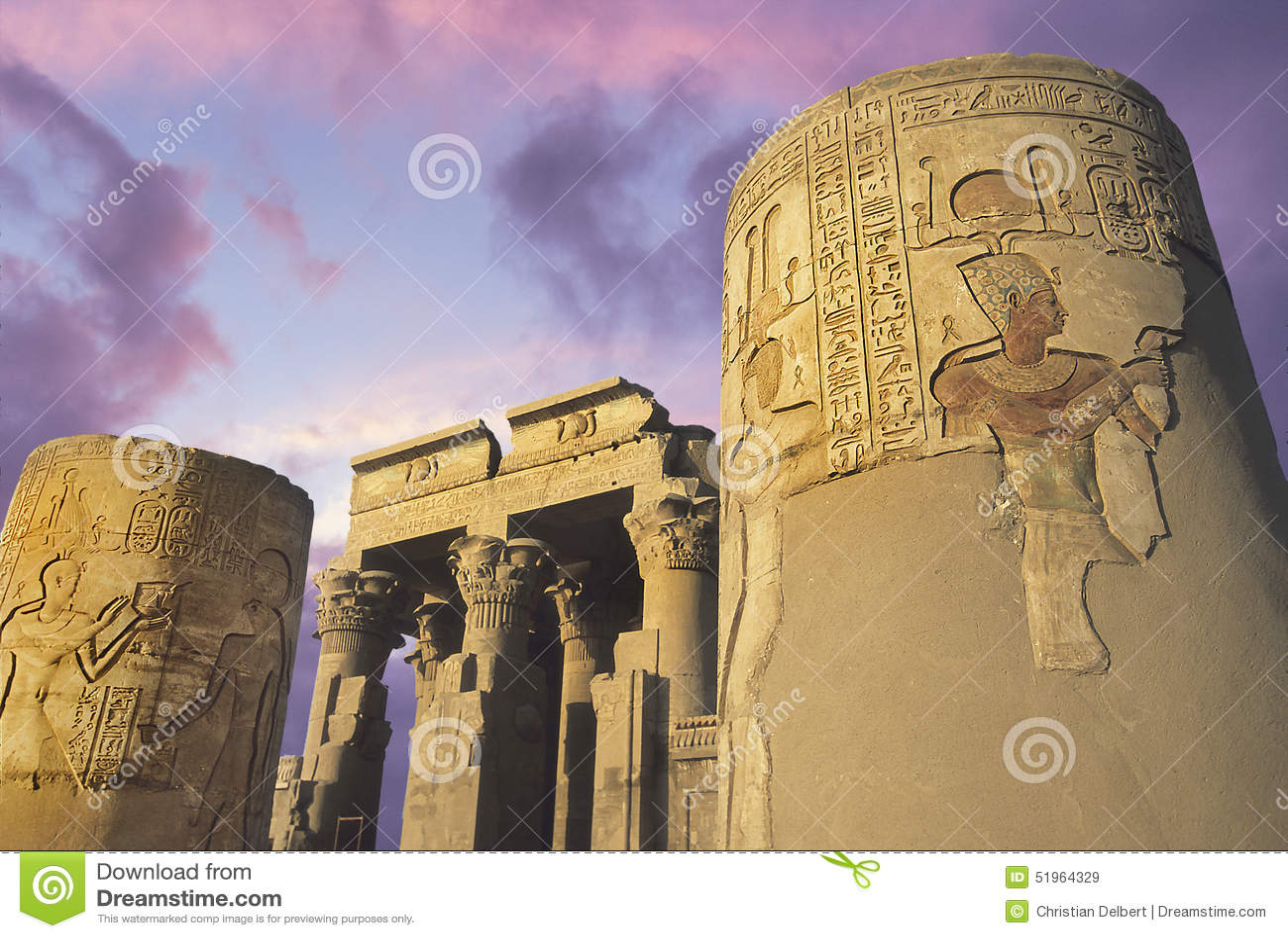 考姆翁布, Eygpt寺庙尼罗的