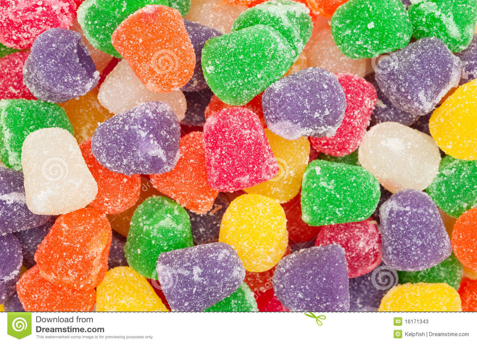 耐嚼的糖果