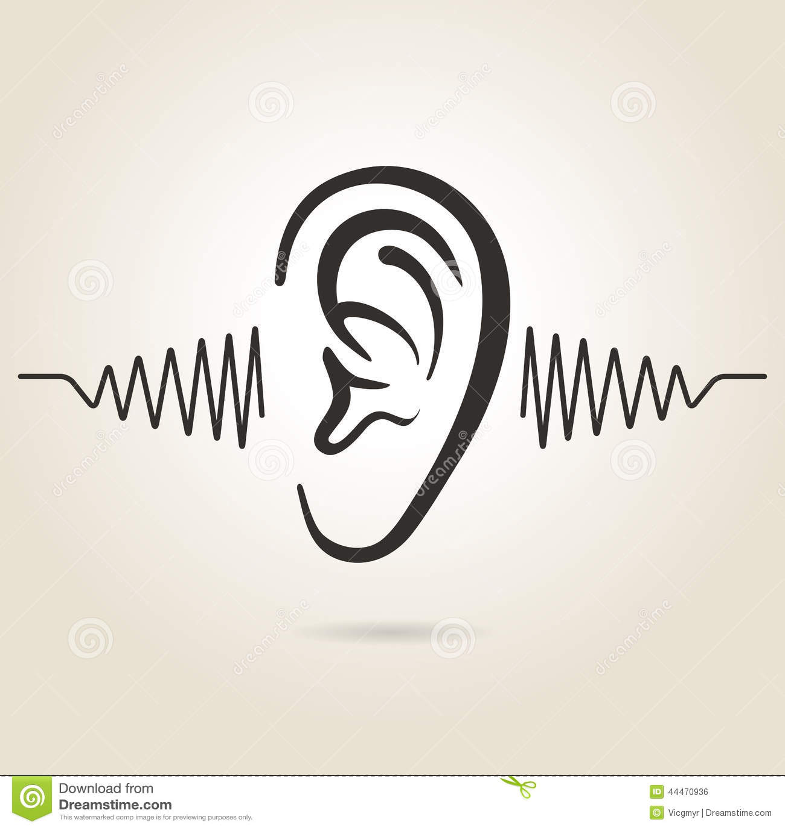 耳朵象图片