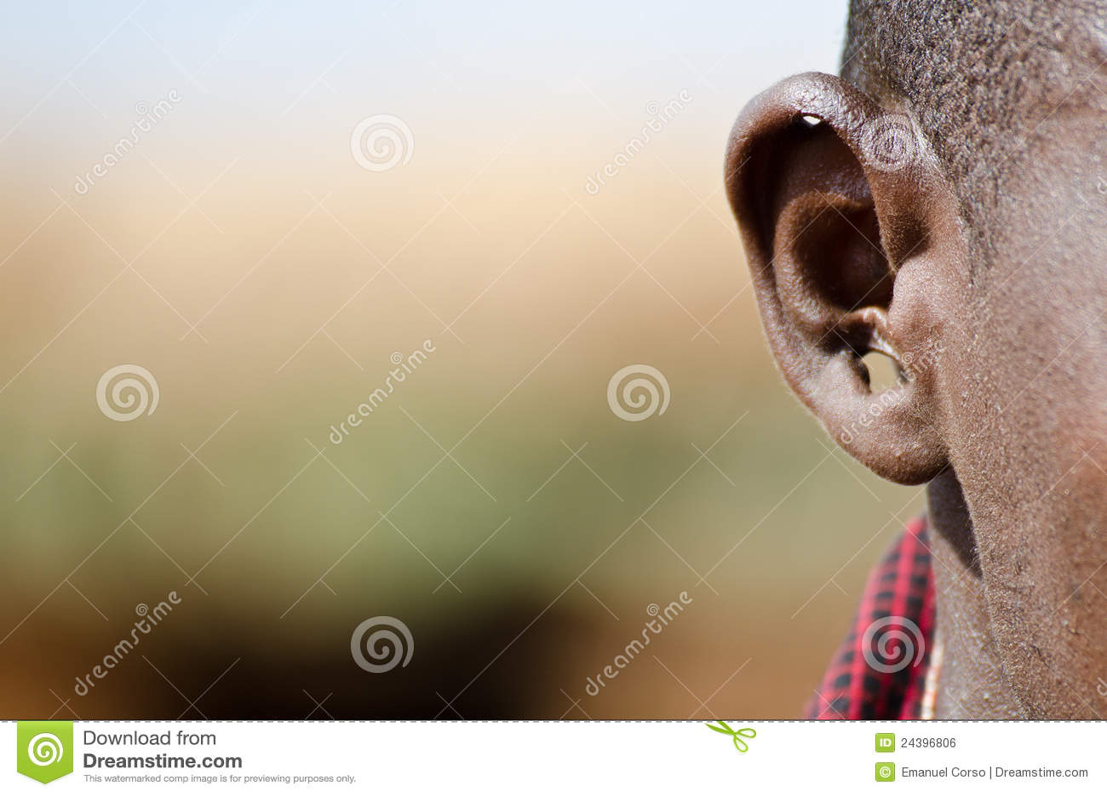 耳朵马塞语