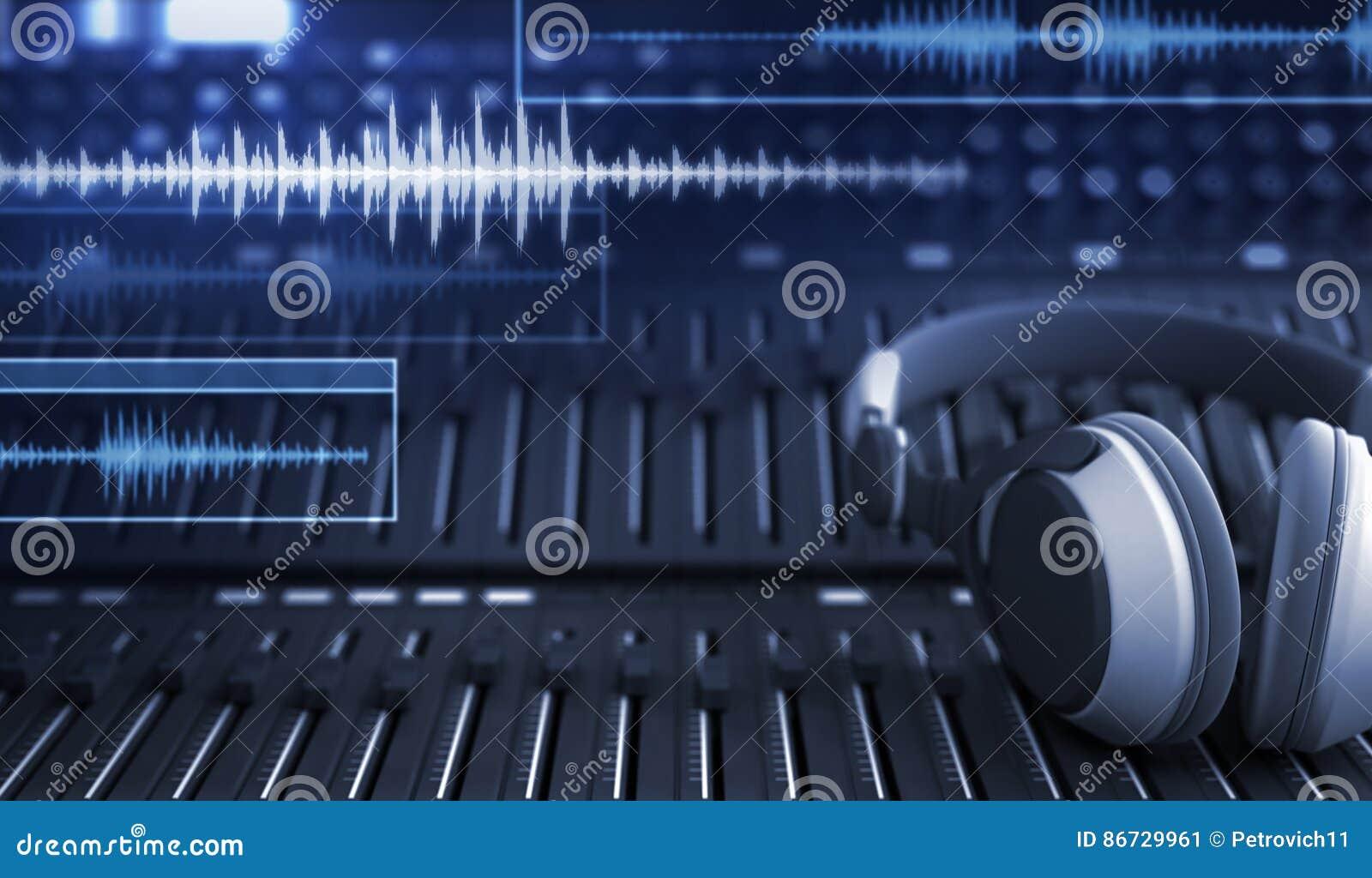 耳机和音频轨道