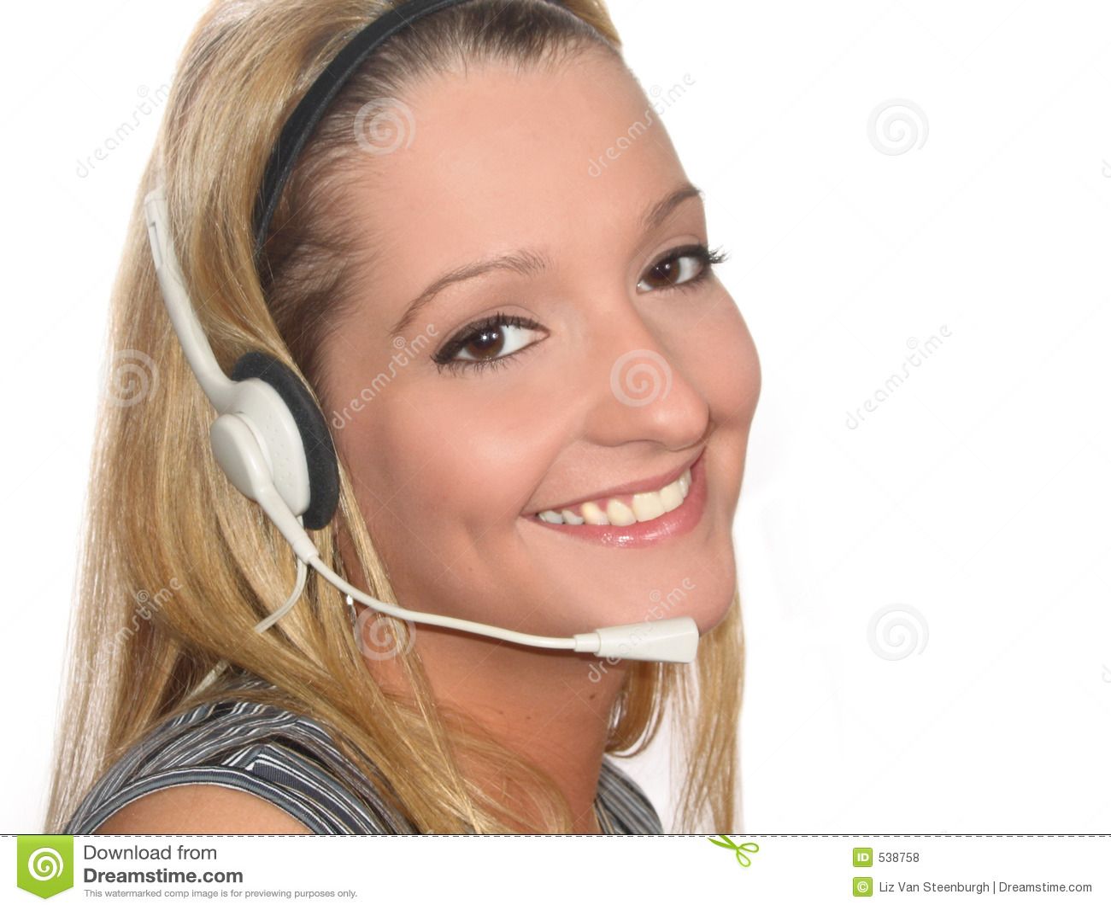 Download 耳机妇女 库存照片. 图片 包括有 电信, 通信, 微笑, 有用, 代表, 协助, 服务台, 员工, 有吸引力的 - 538758