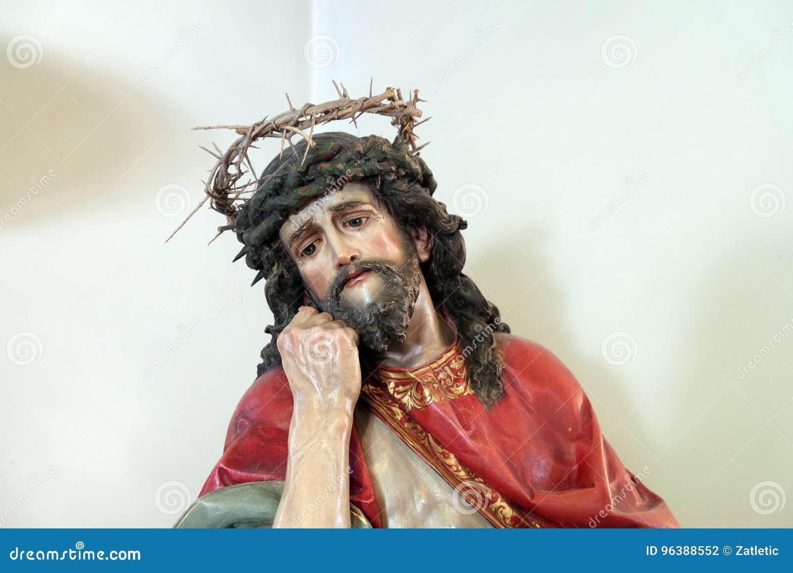 耶稣加冠了与刺