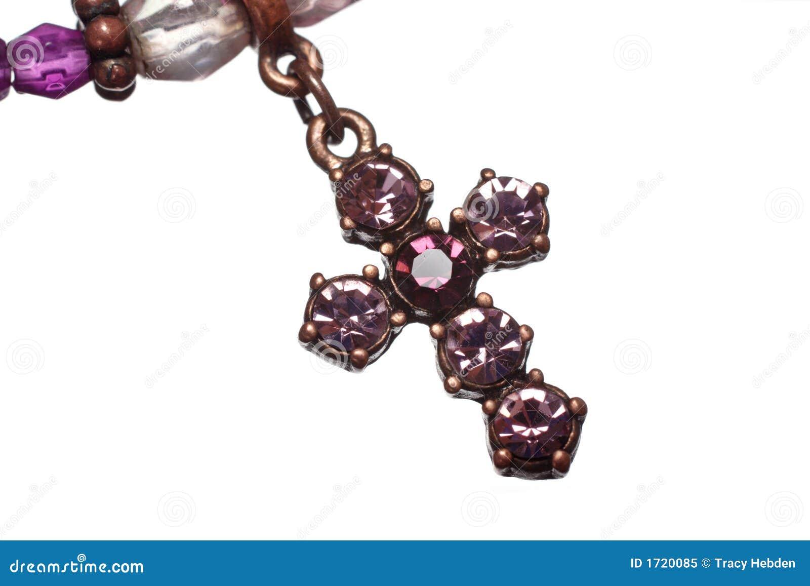 耶稣受难象紫色白色