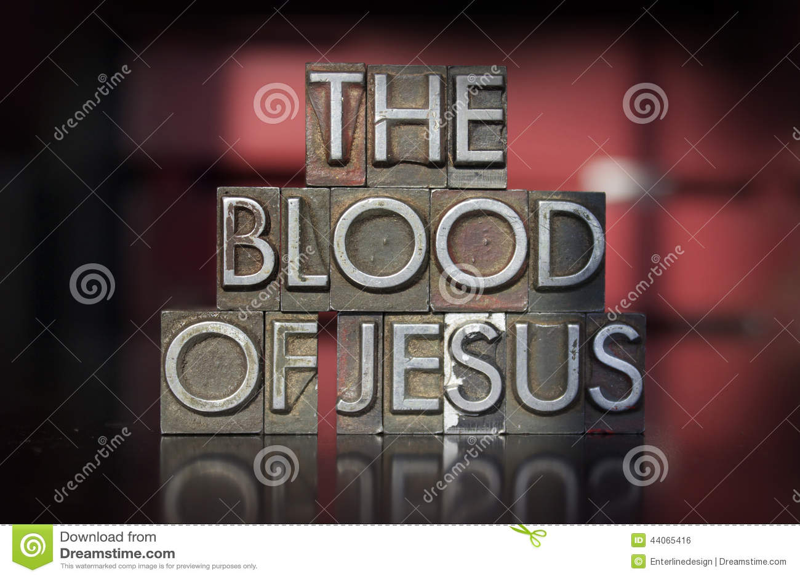 耶稣活版血液