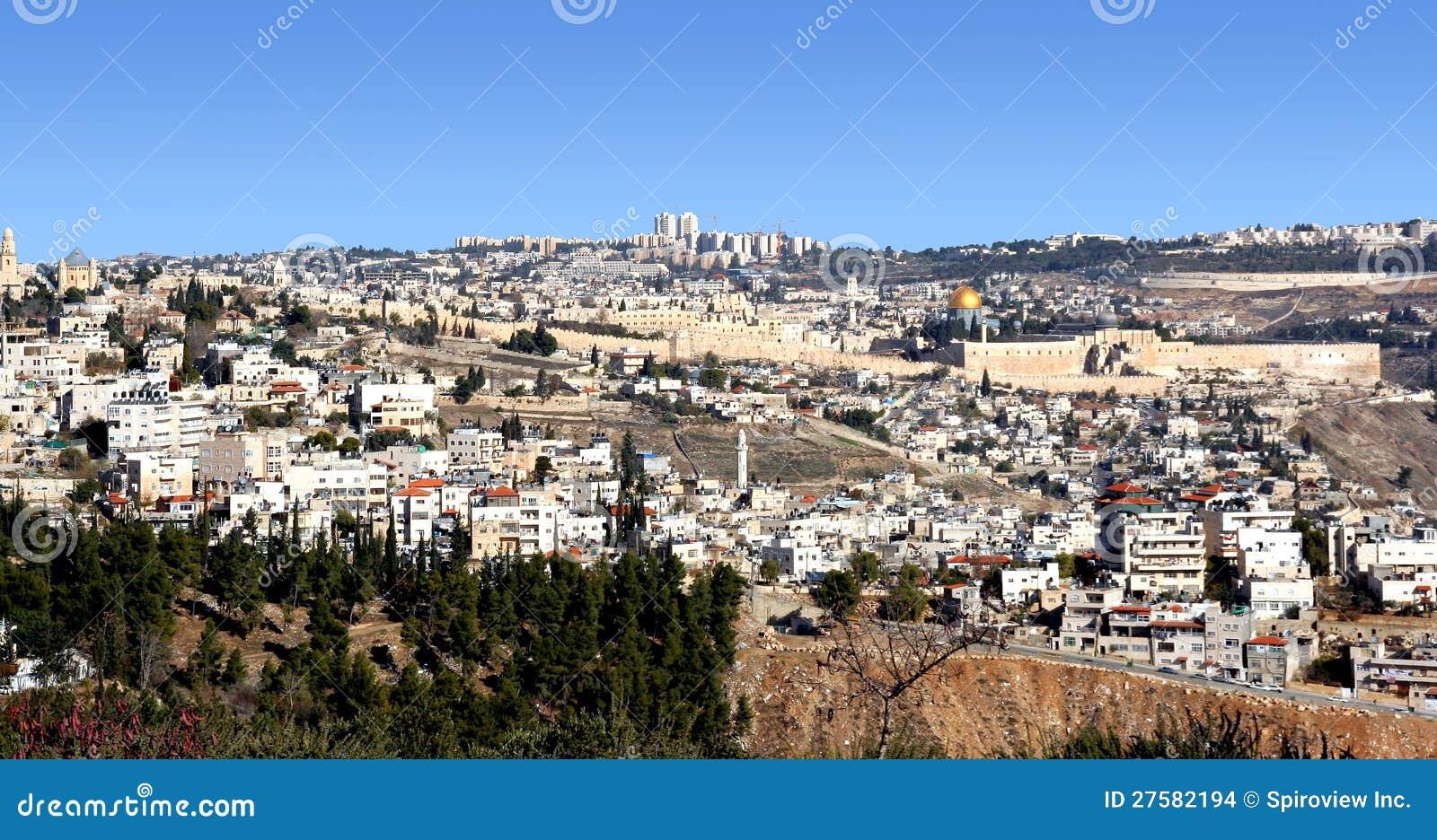 耶路撒冷全景