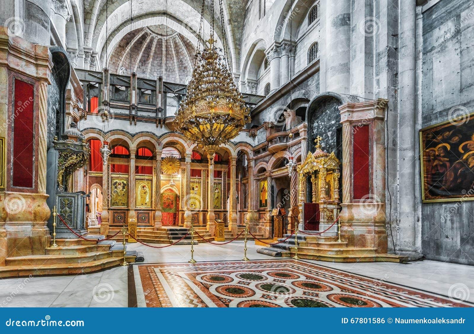 耶路撒冷 以色列 圣洁坟墓教会-复活的教会