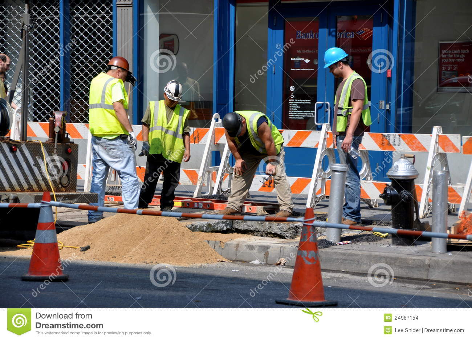 联系人乘员组爱迪生nyc维修服务工作
