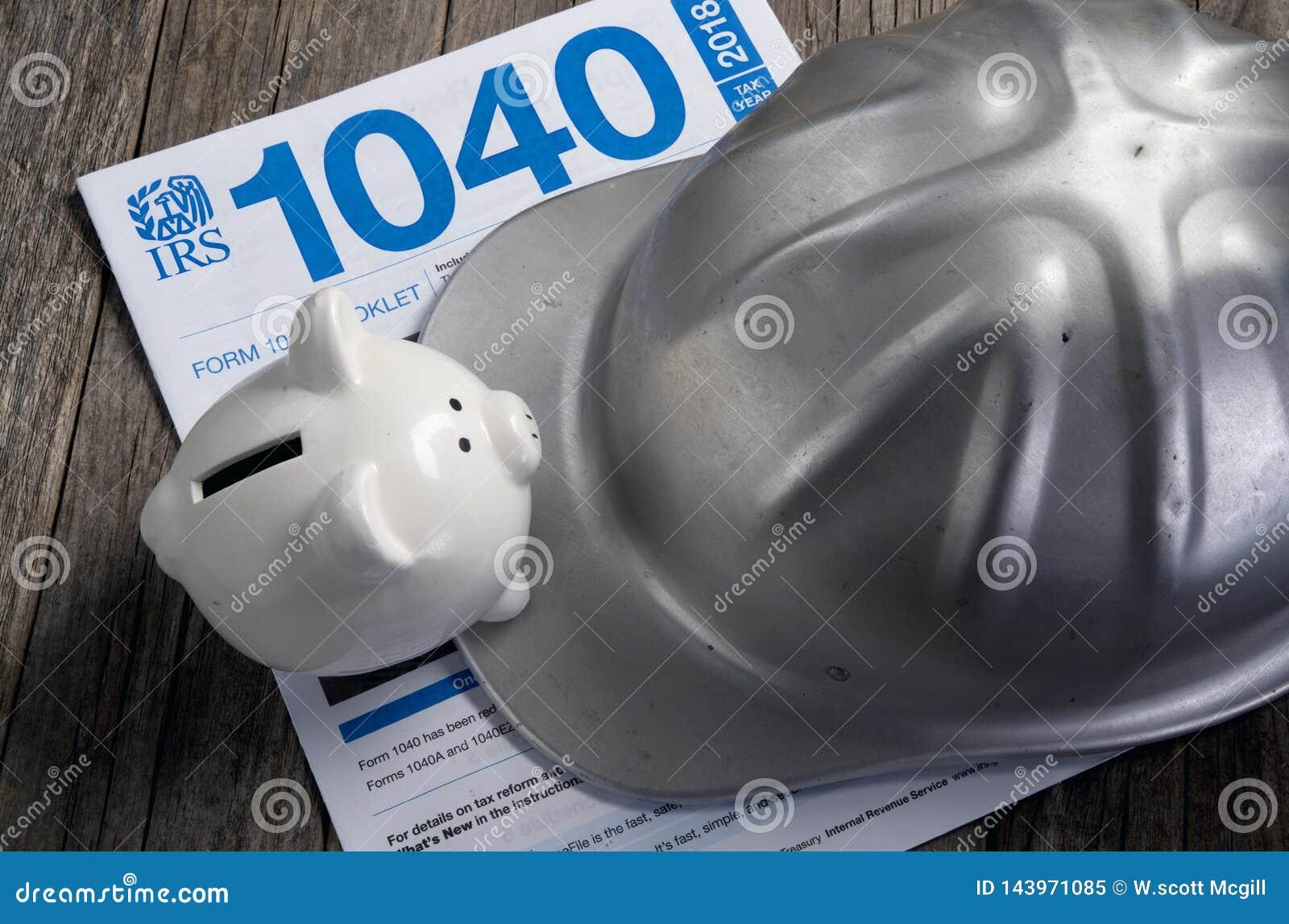 联邦税务局1040形式