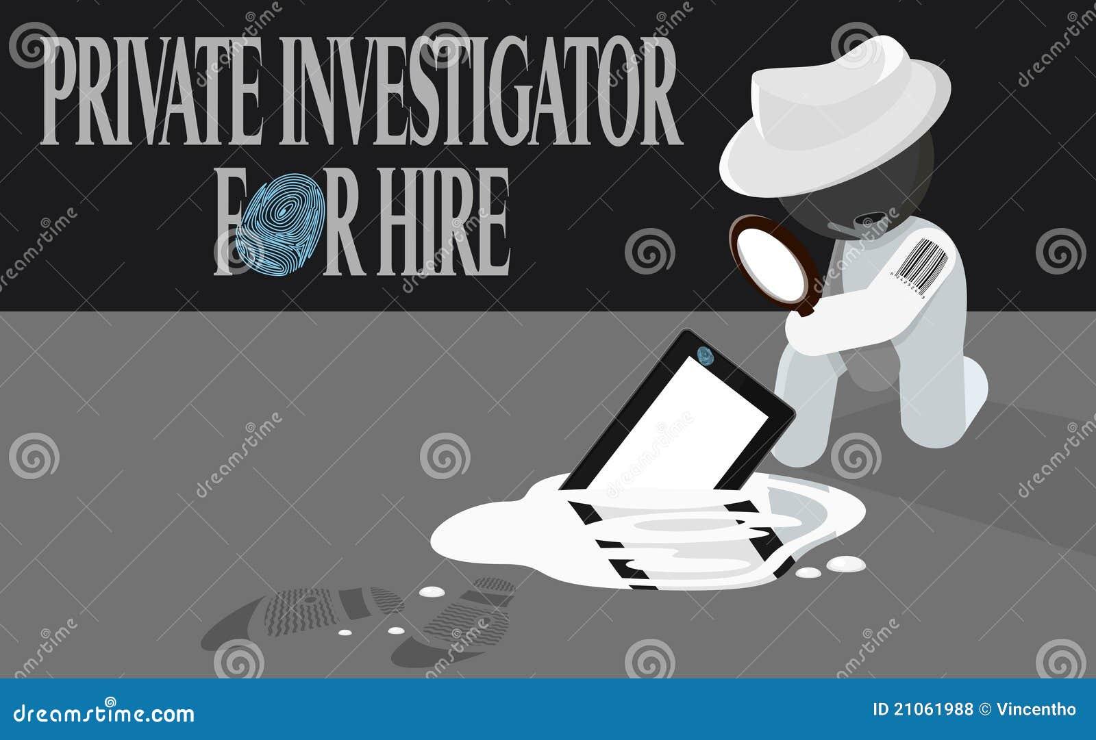 聘用例证调查员专用大猎犬