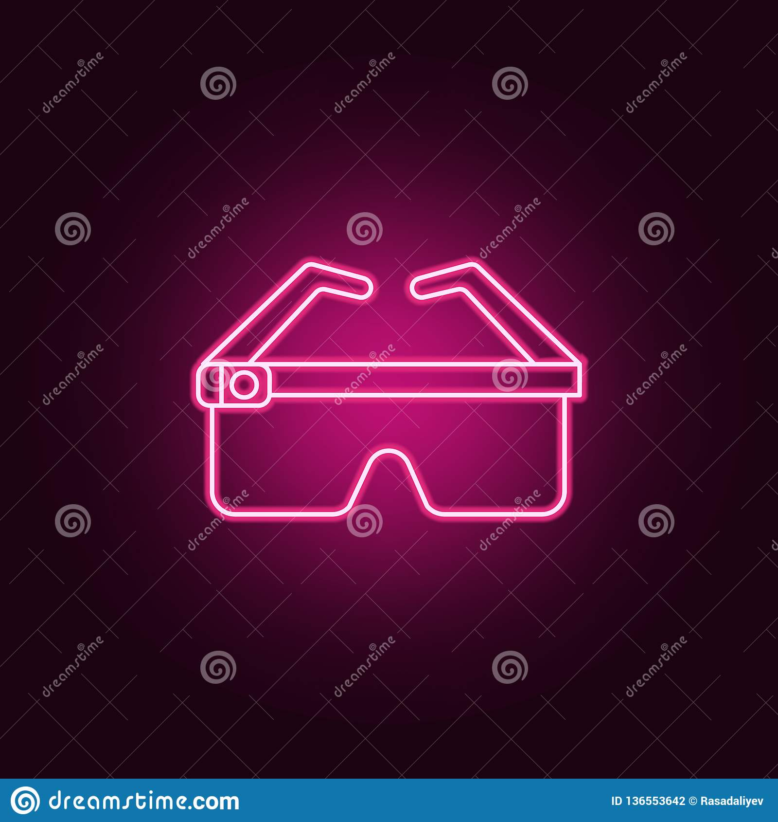 聪明的玻璃象 元素的人为在霓虹样式象 网站的简单的象,网络设计,流动应用程序,信息图表