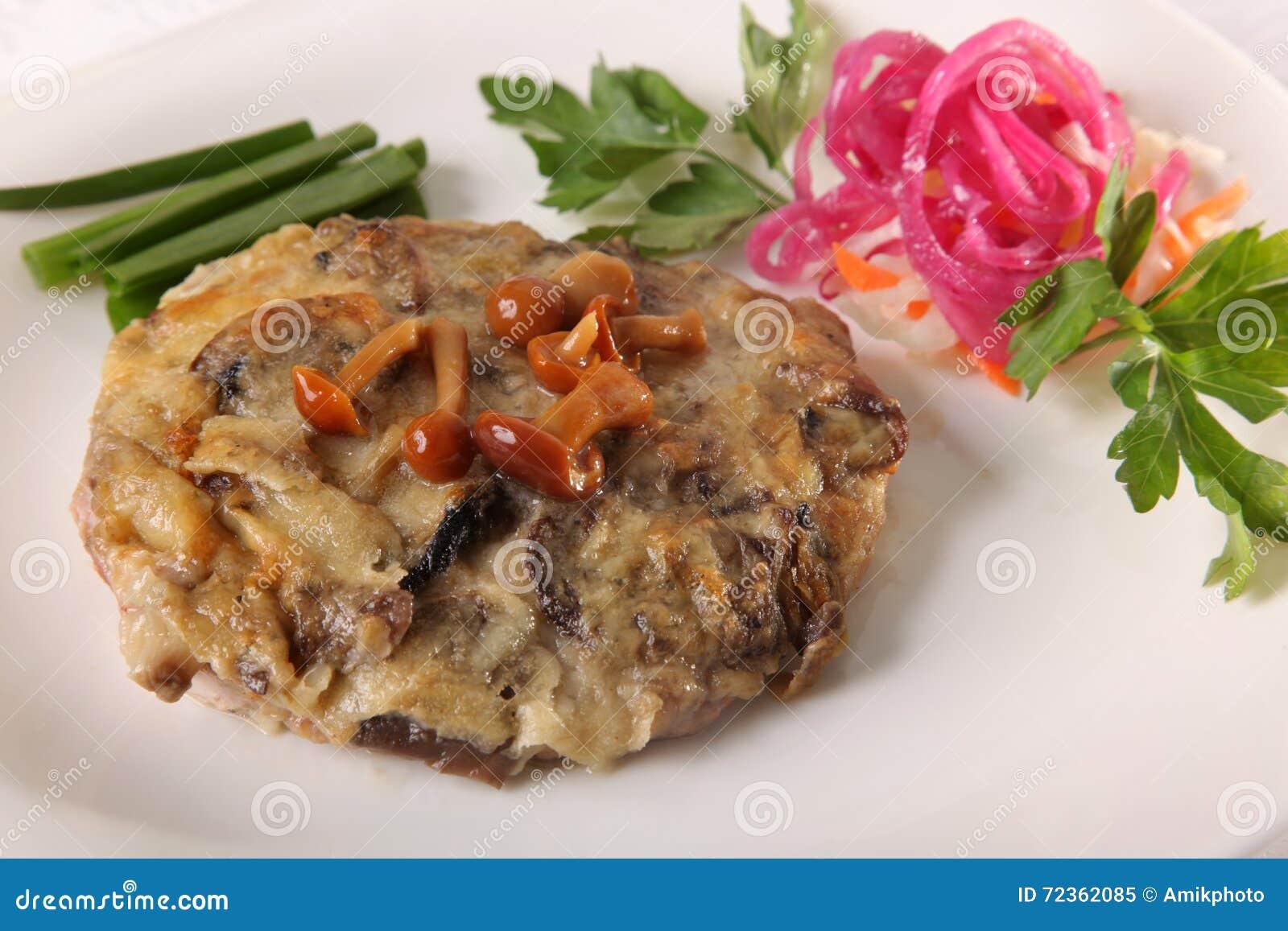 肉烤用蘑菇