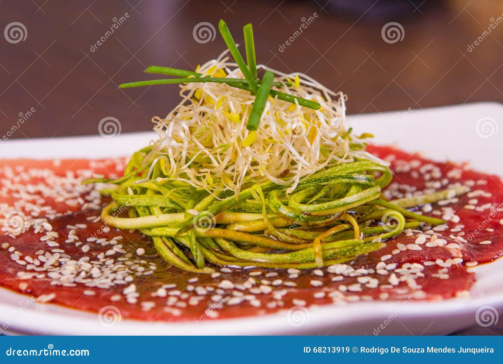 肉Carpaccio开胃菜