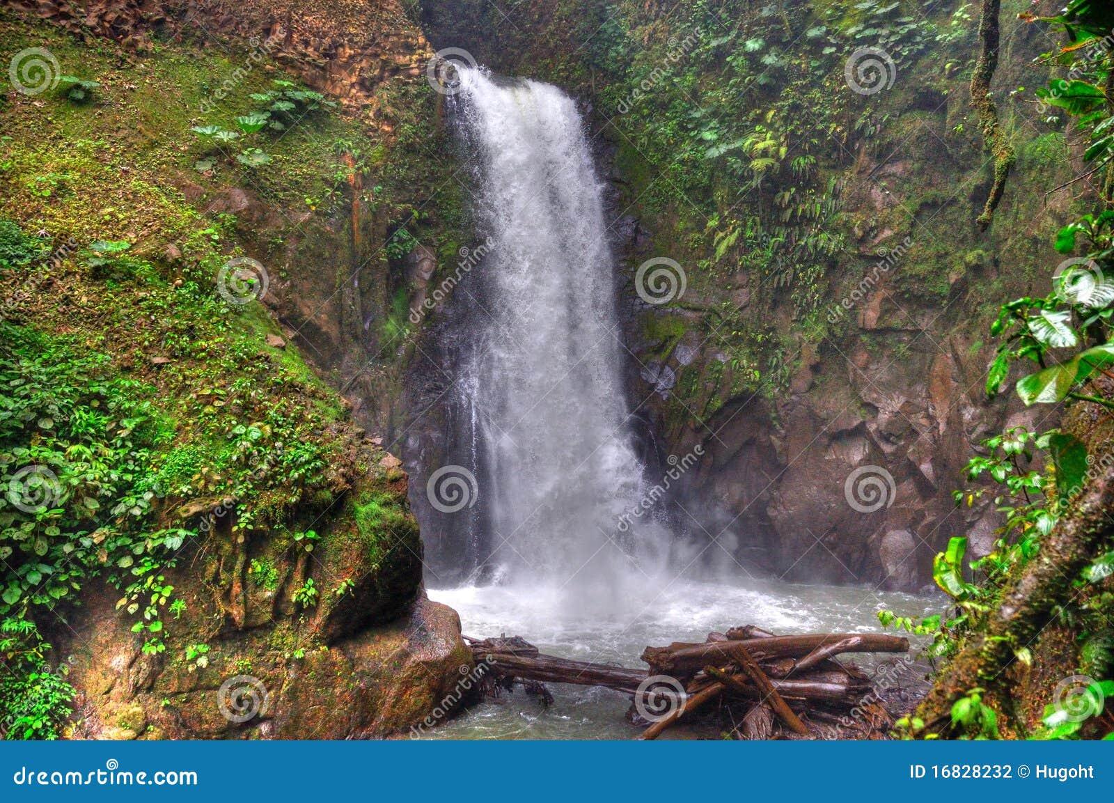 肋前缘拉巴斯rica瀑布