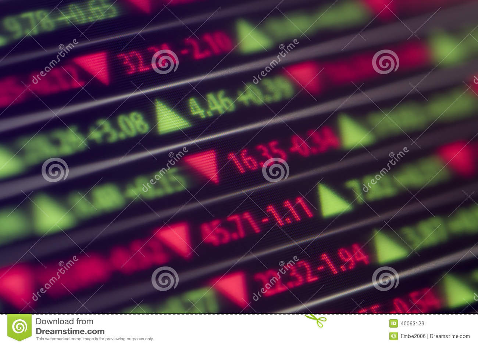 股市断续装置