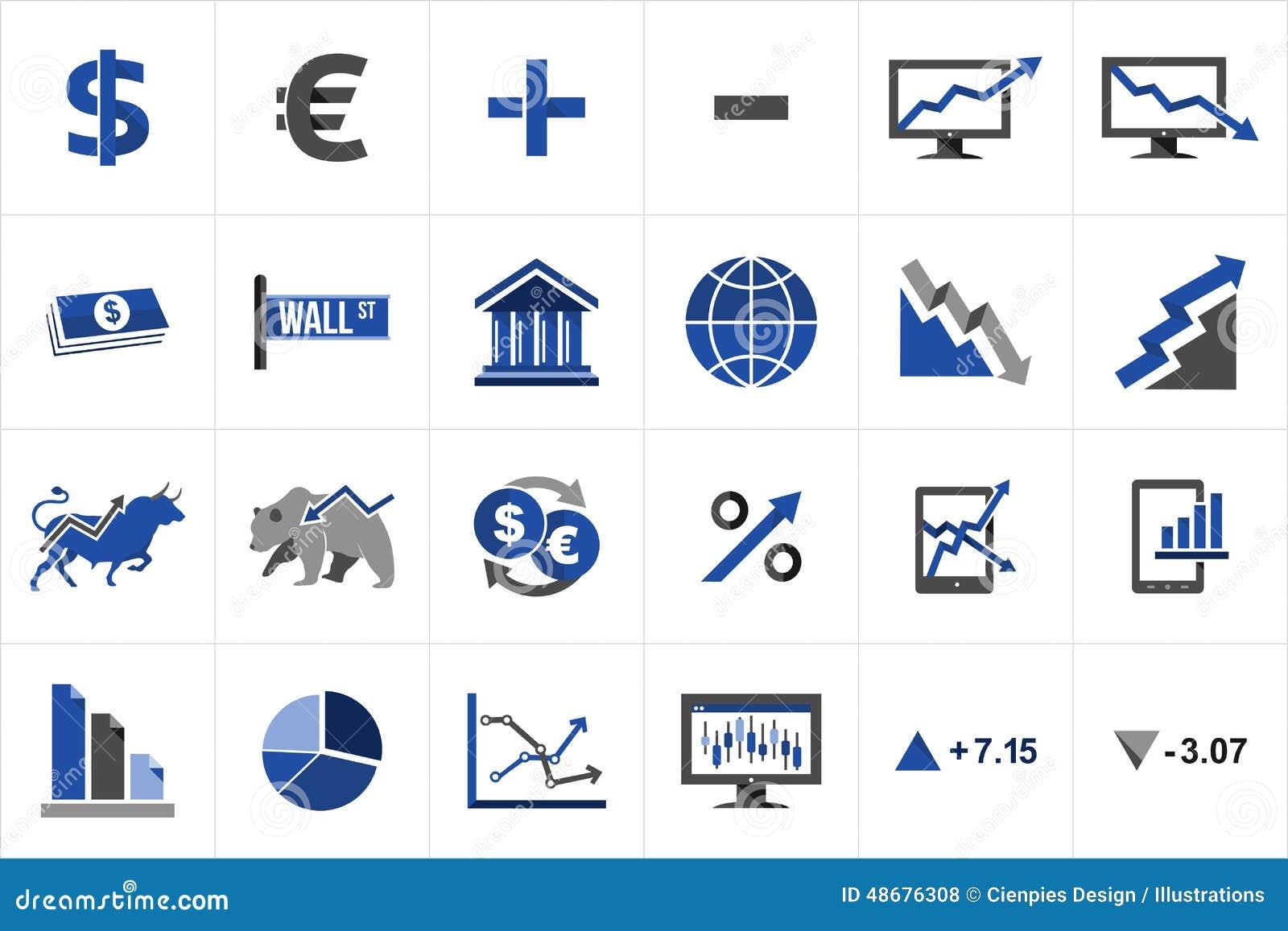 股市财务象集合图片