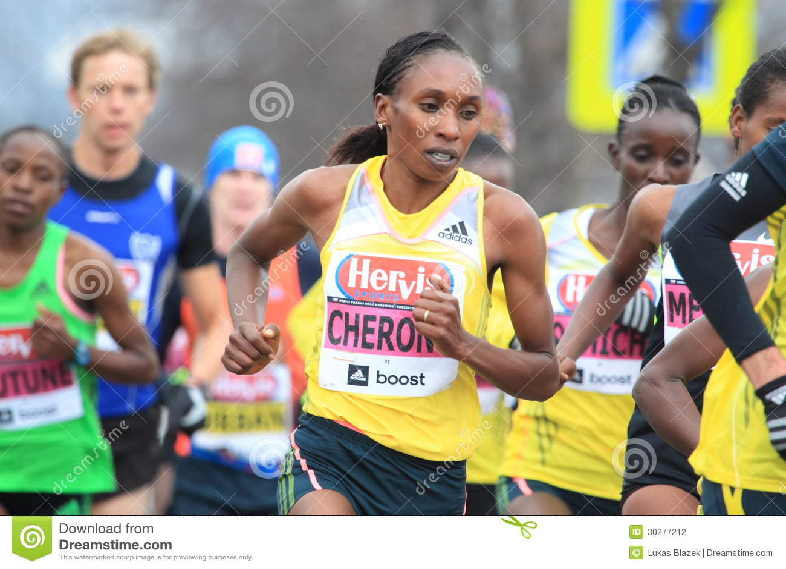 Gladys Cherono -布拉格半马拉松2013年