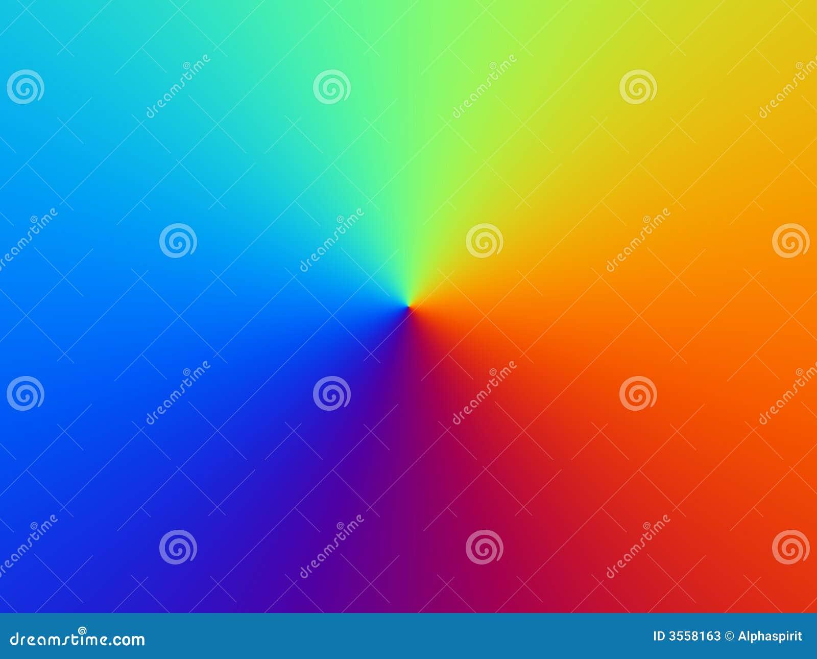 背景上色彩虹