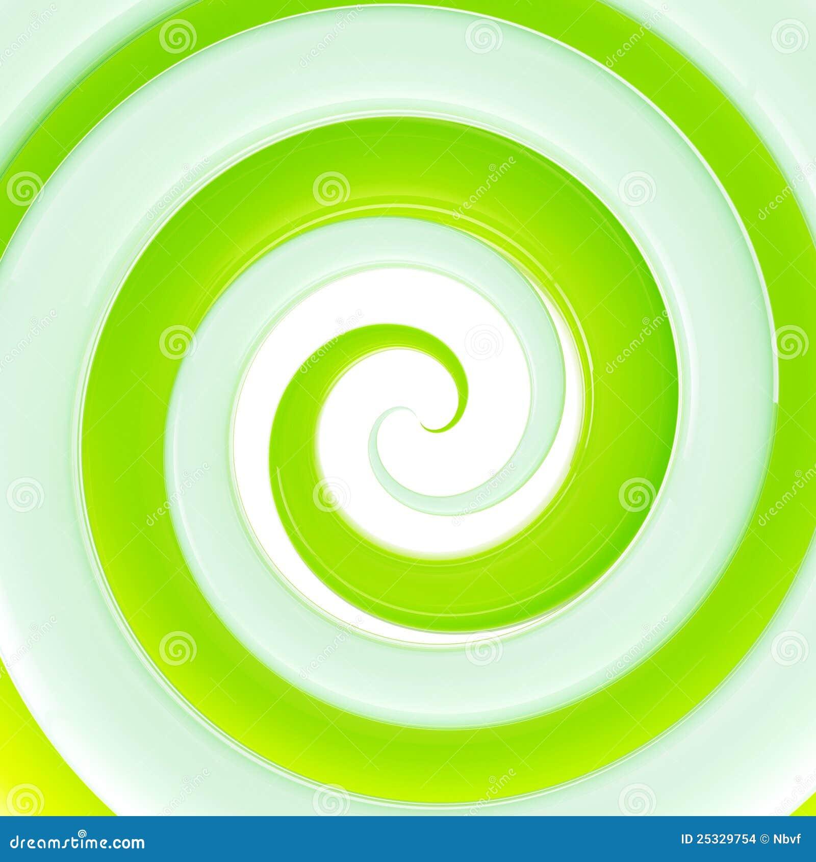 背景五颜六色的新光滑的绿色转动