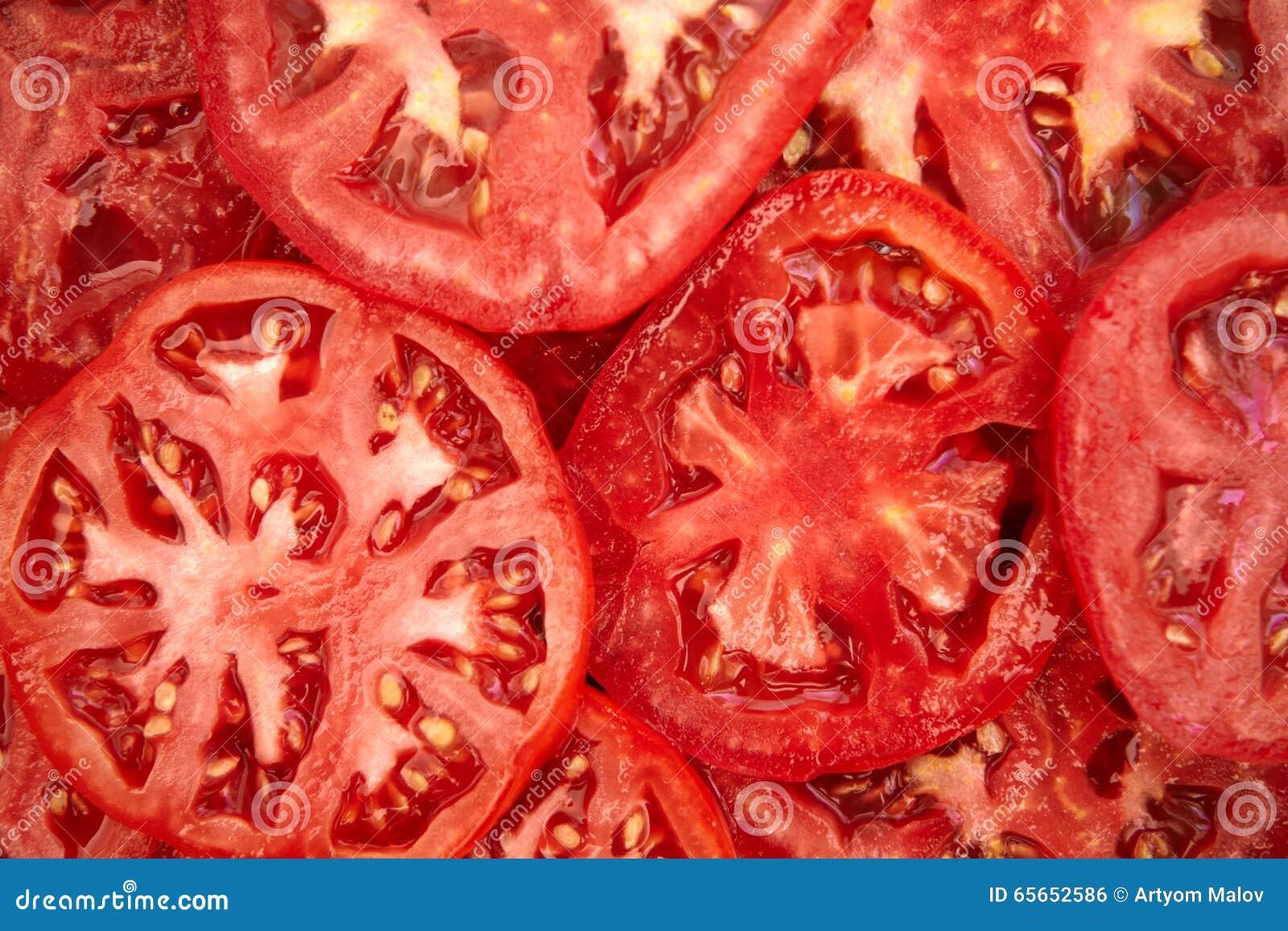 背景切蕃茄
