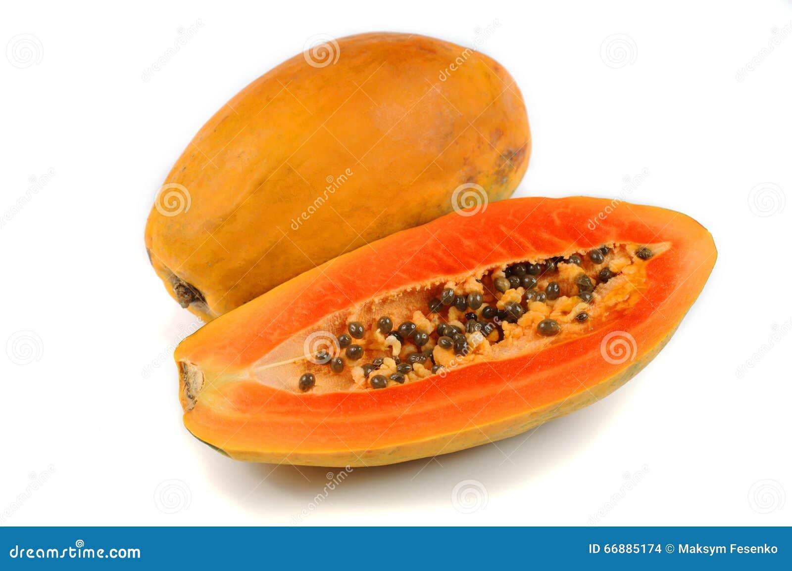 背景剪报半图象包括番木瓜路径的剪切果子去除空白全部