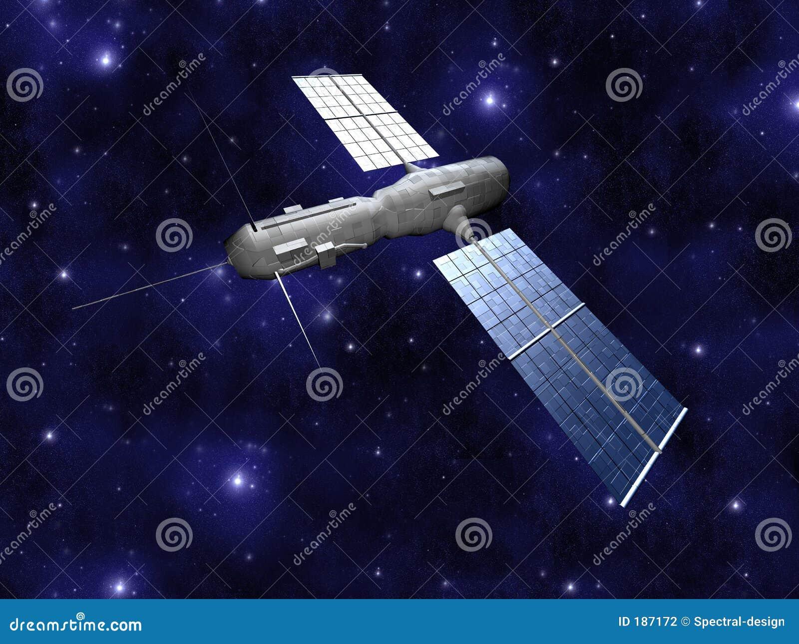 背景卫星starfield
