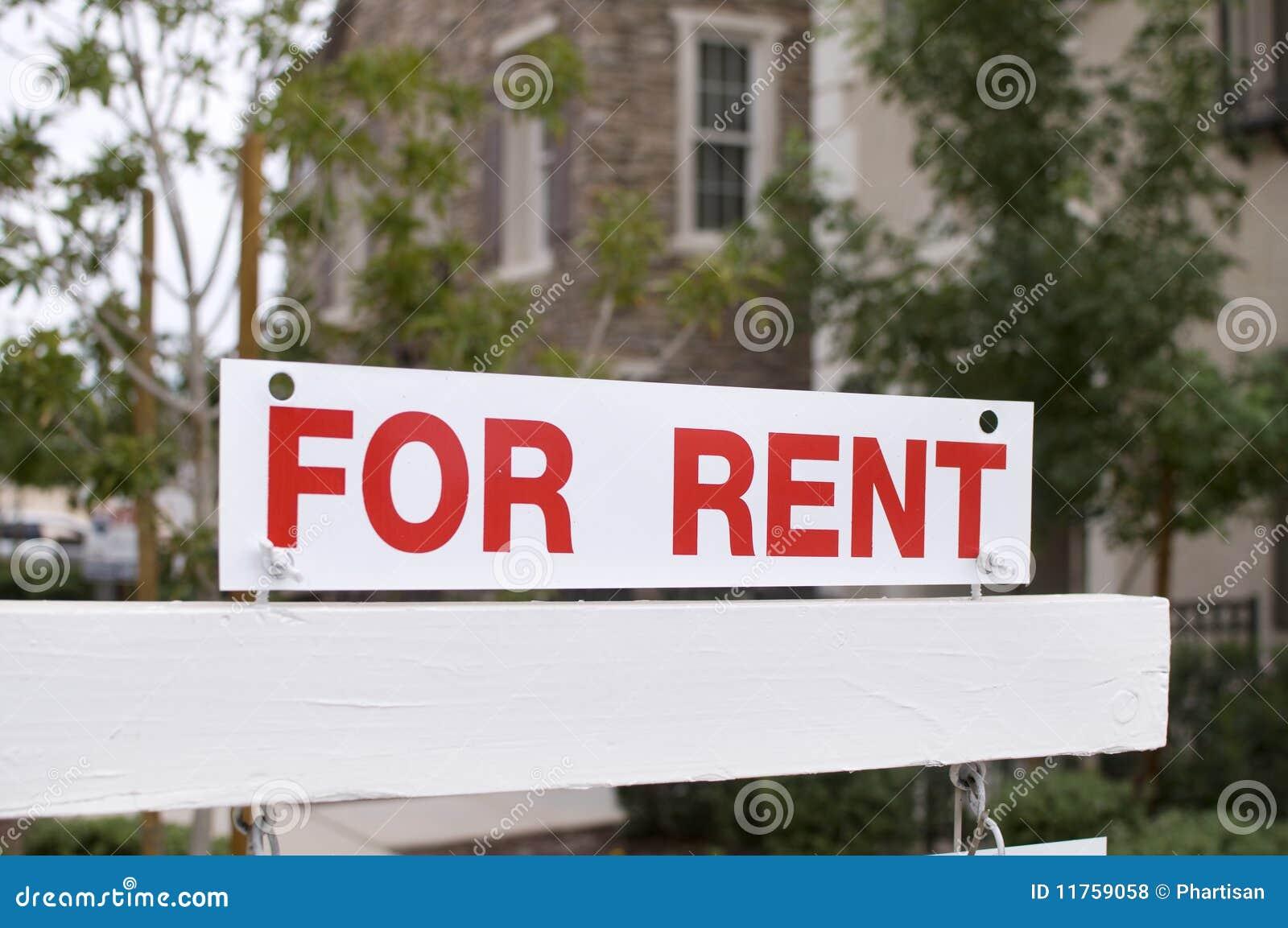 背景回家租金符号