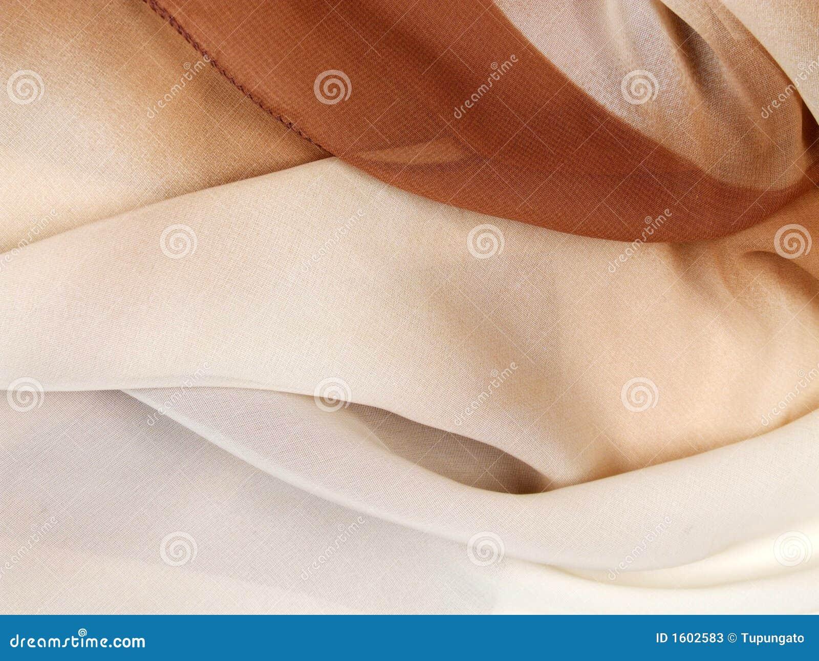 背景围巾丝绸纺织品