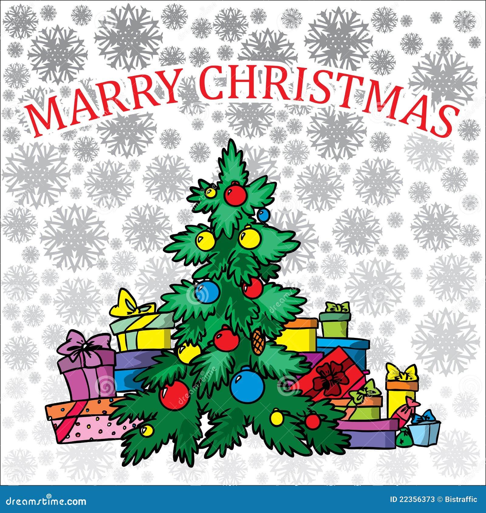 背景圣诞树白色