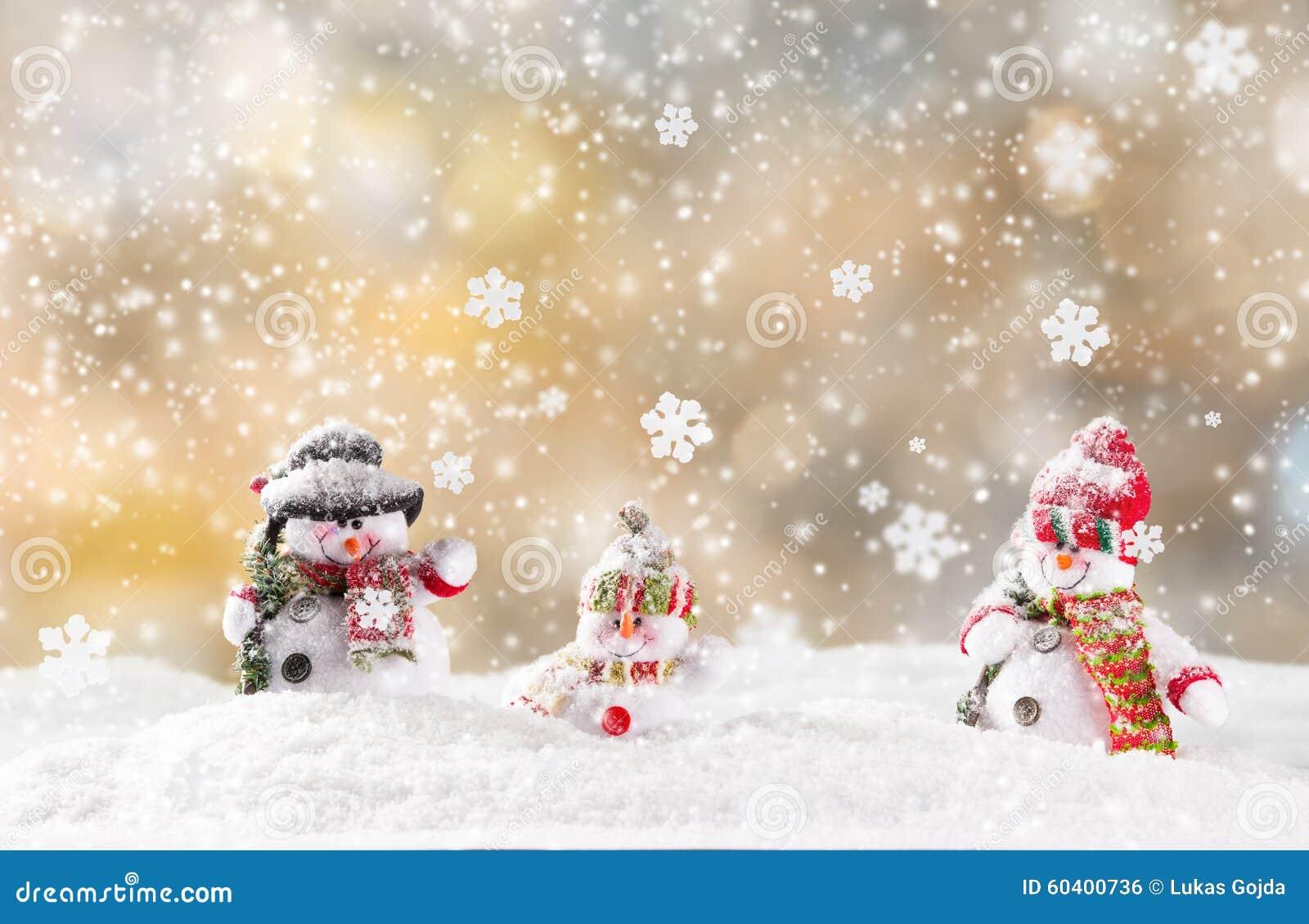 背景圣诞节例证雪人向量